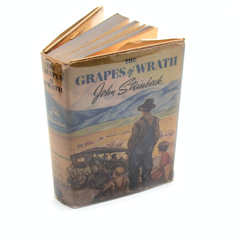 character analysis of the grapes of wrath by john steinbeck John steinbeck emphasized the unattainable nature of the american dream of economic stability in the grapes of wrath through the joads' cross-country migration, their constant and unpredictable.