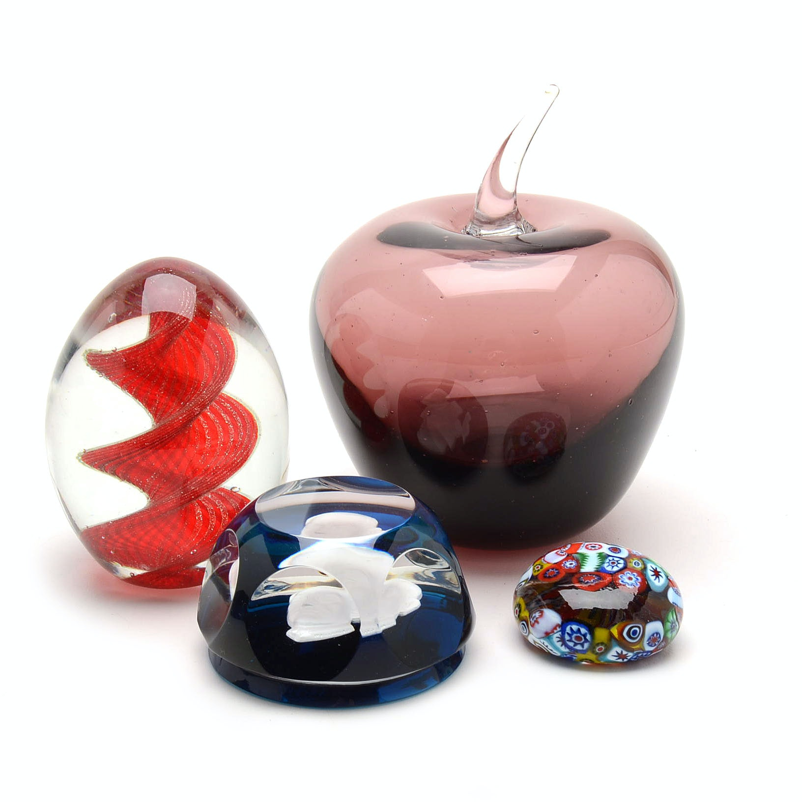 Paperweight Collection Including Baccarat