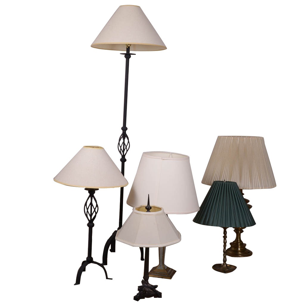 Assortment of Table and Floor Lamps