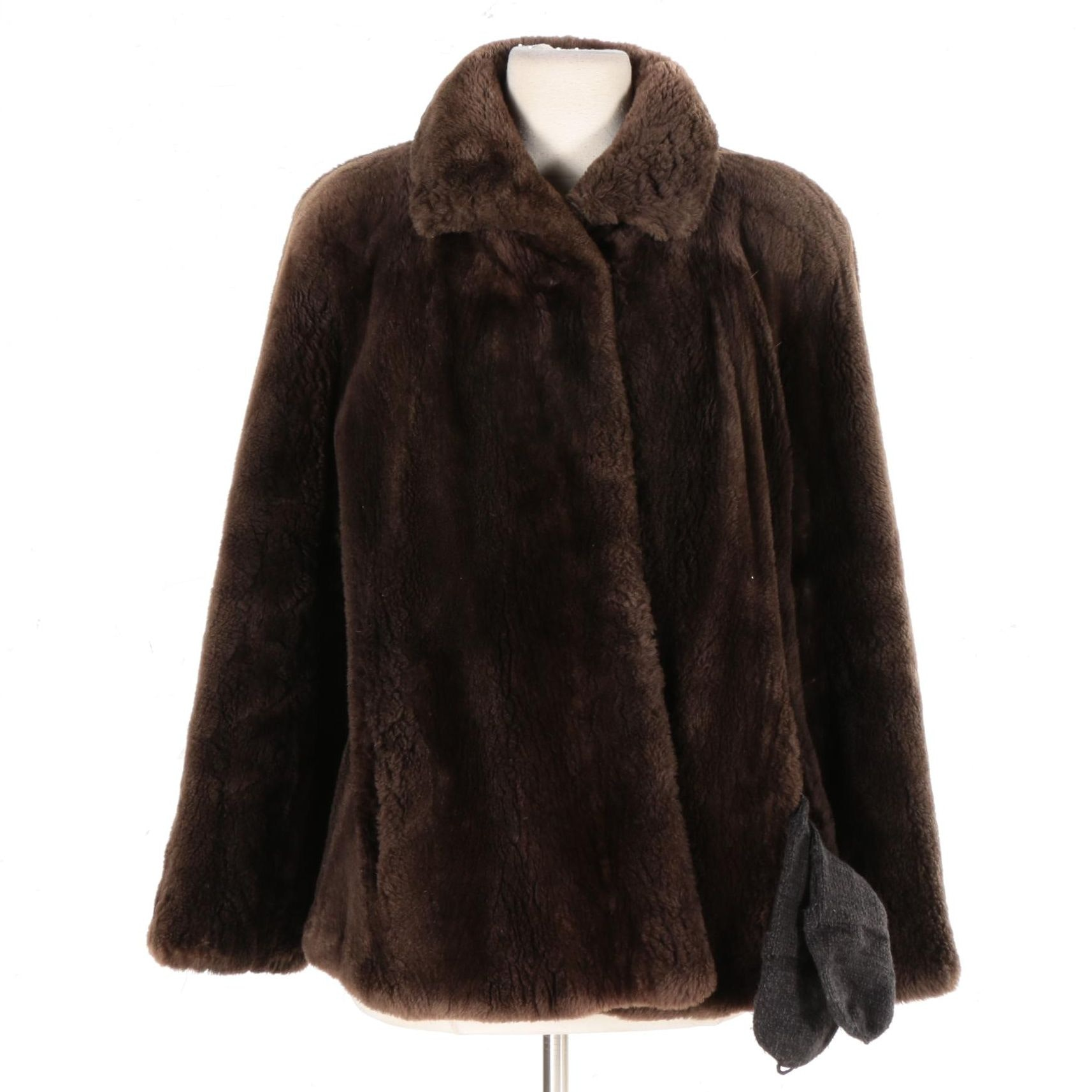 Sheared Beaver Fur Jacket From York Furs at Regenstein's