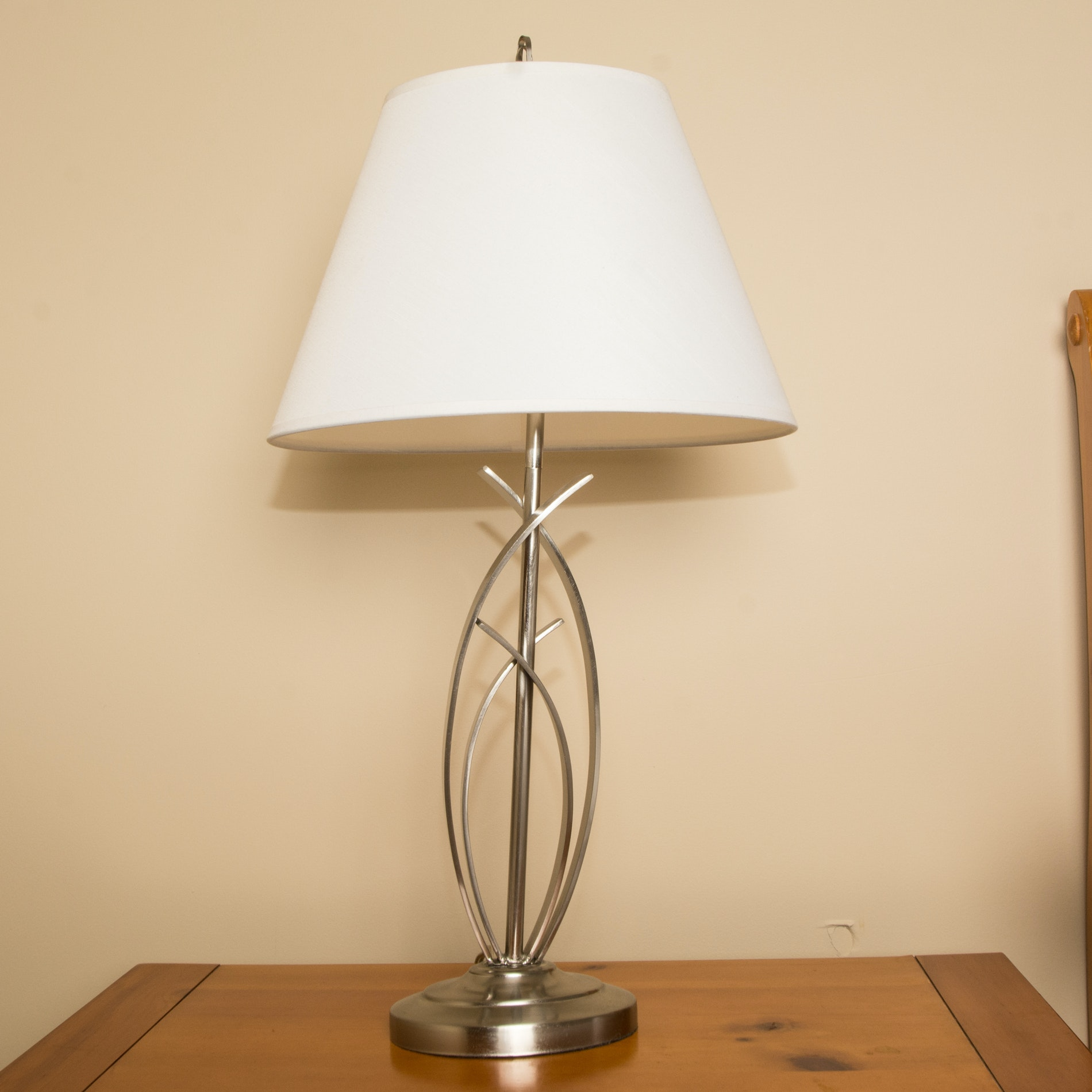 Silvertone Table Lamp