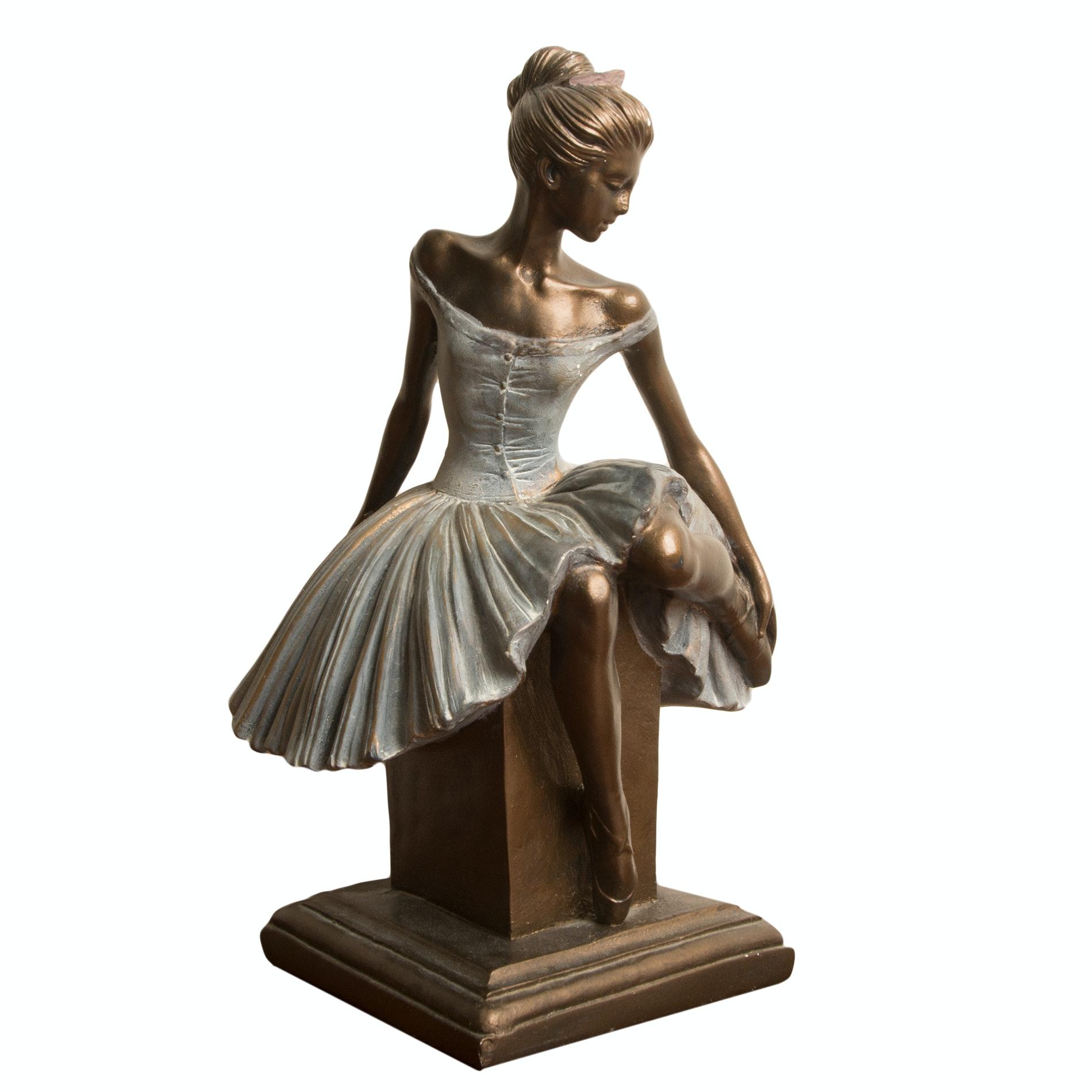 Sergey Eylanbekov Ballerina Reproduction Sculpture by Alva Studios after Edgar Degas