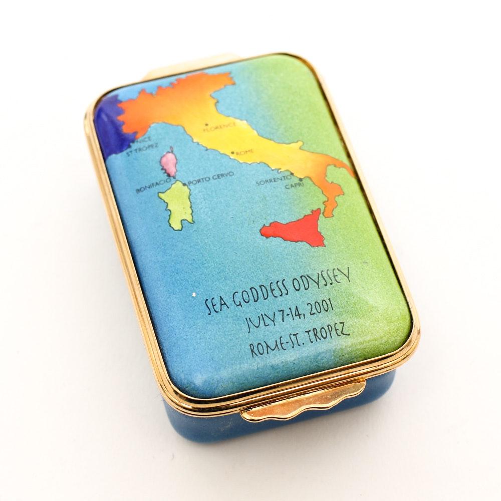 Halcyon Days Sea Goddess Odyssey Limited Edition Box