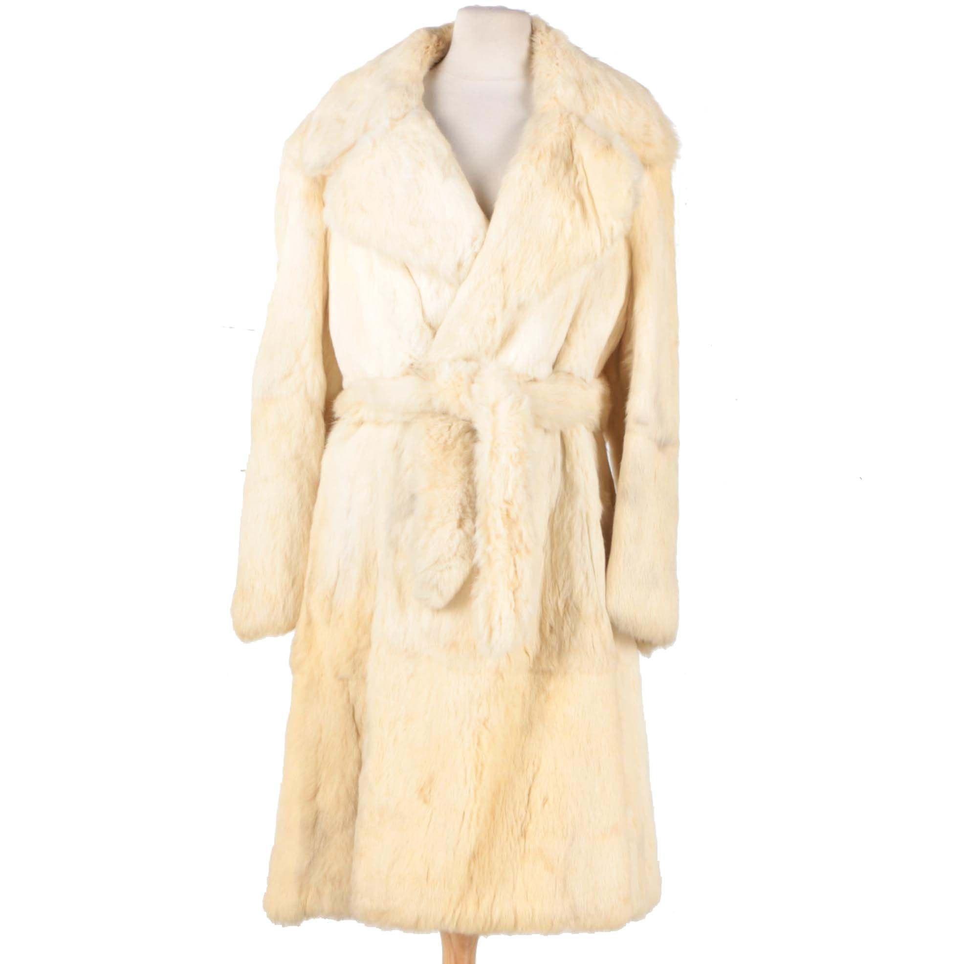 Evans Rabbit Fur Women's Coat