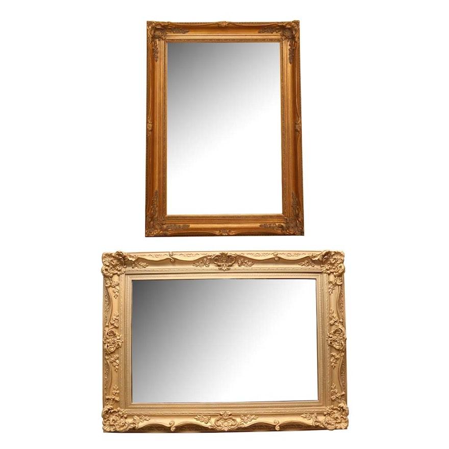 5b280a44a49 Pair of Beveled Wall Mirrors   EBTH