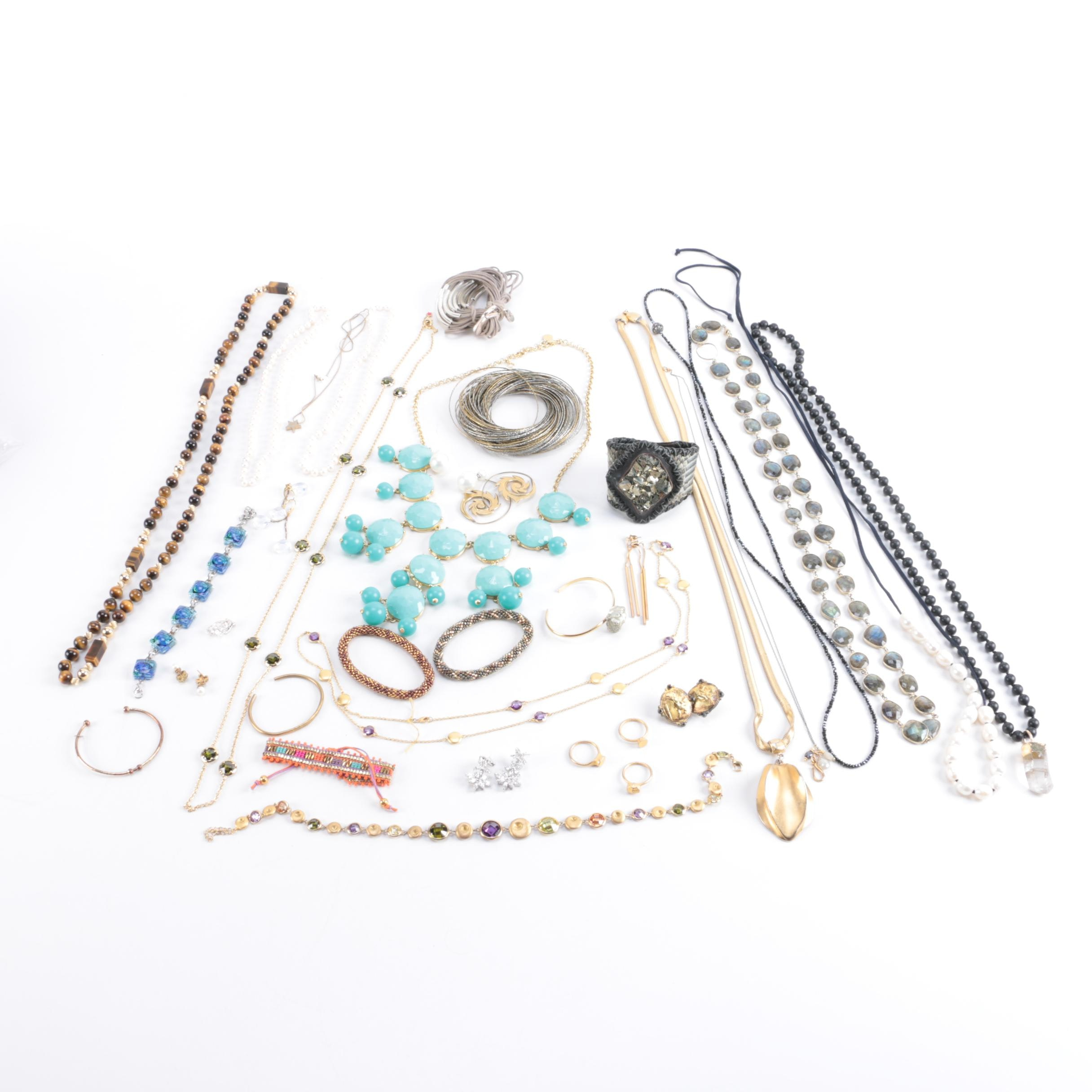 Collection of Contemporary Jewelry Including J Crew
