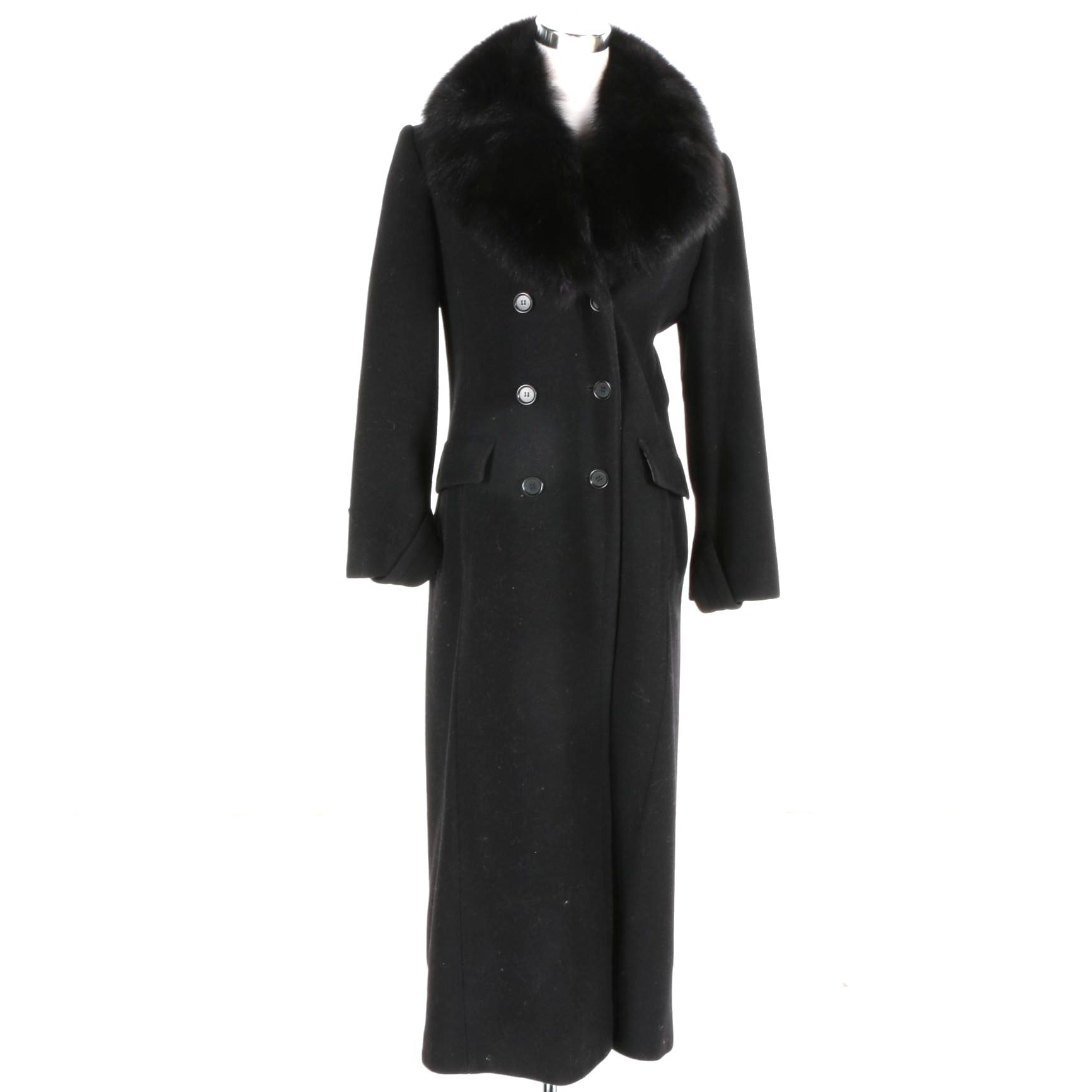 Omón Wool and Cashmere Women's Coat