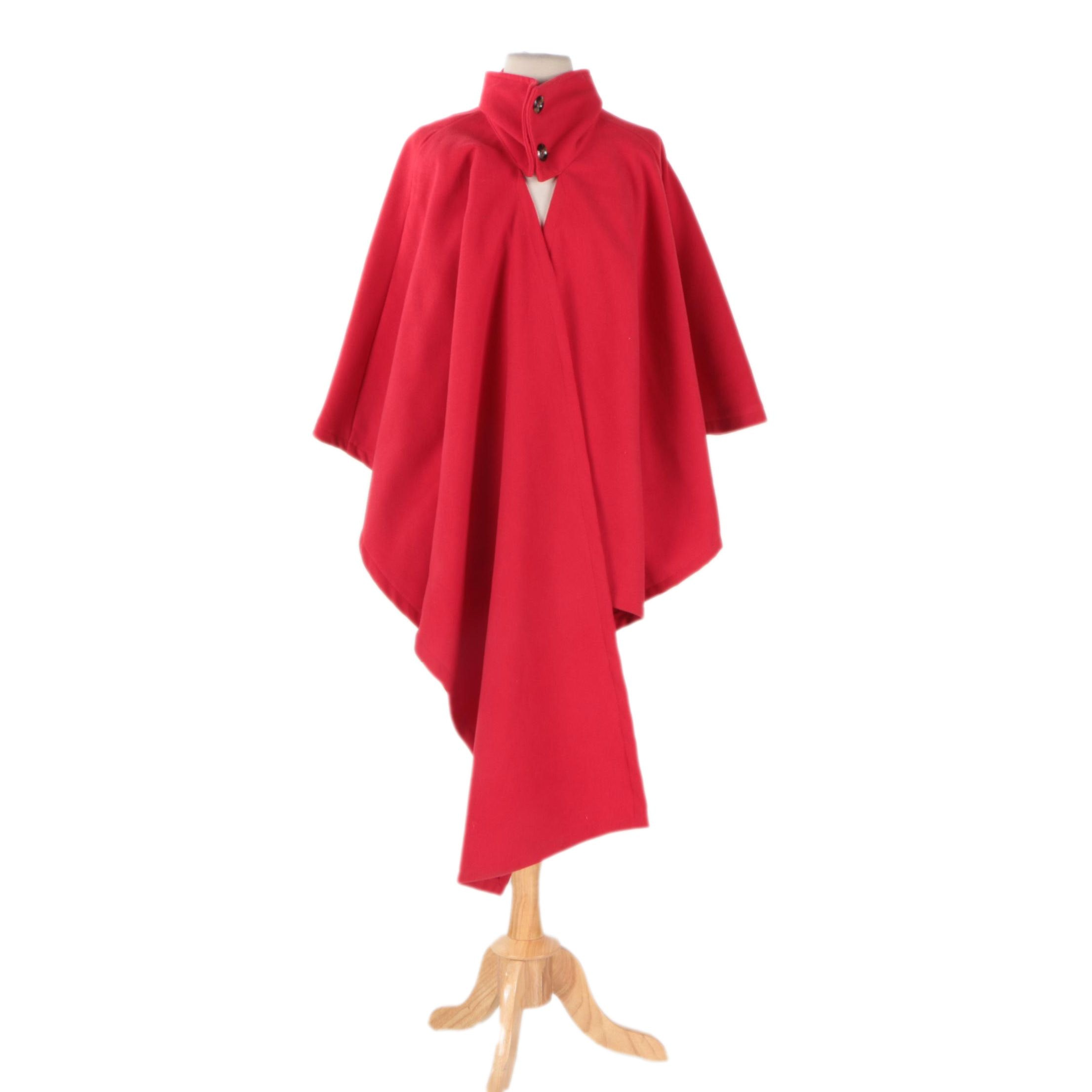 Heramay Fashion Collection Wool Poncho