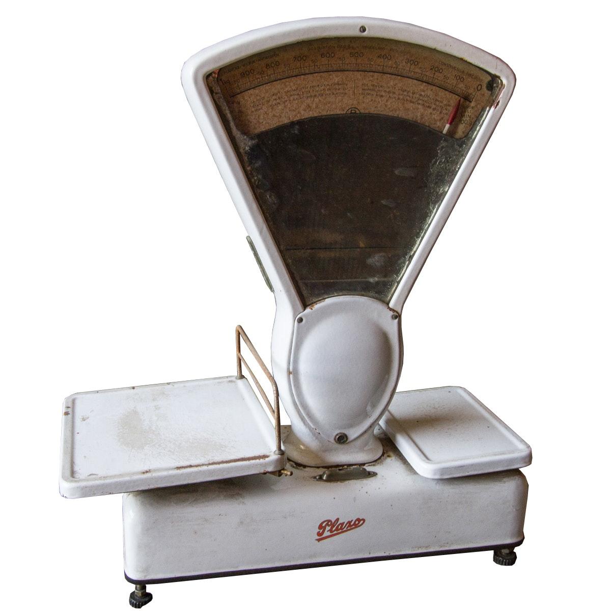 Vintage White Plaxo Deli Scale