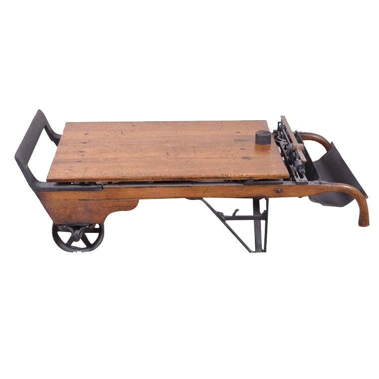 Antique Grain Scale
