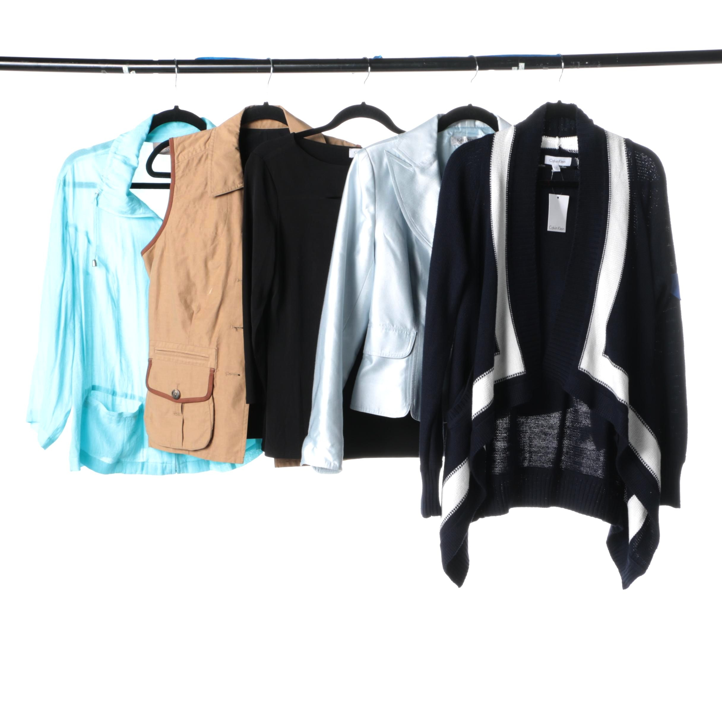 Women's Tops and Jackets Including Calvin Klein