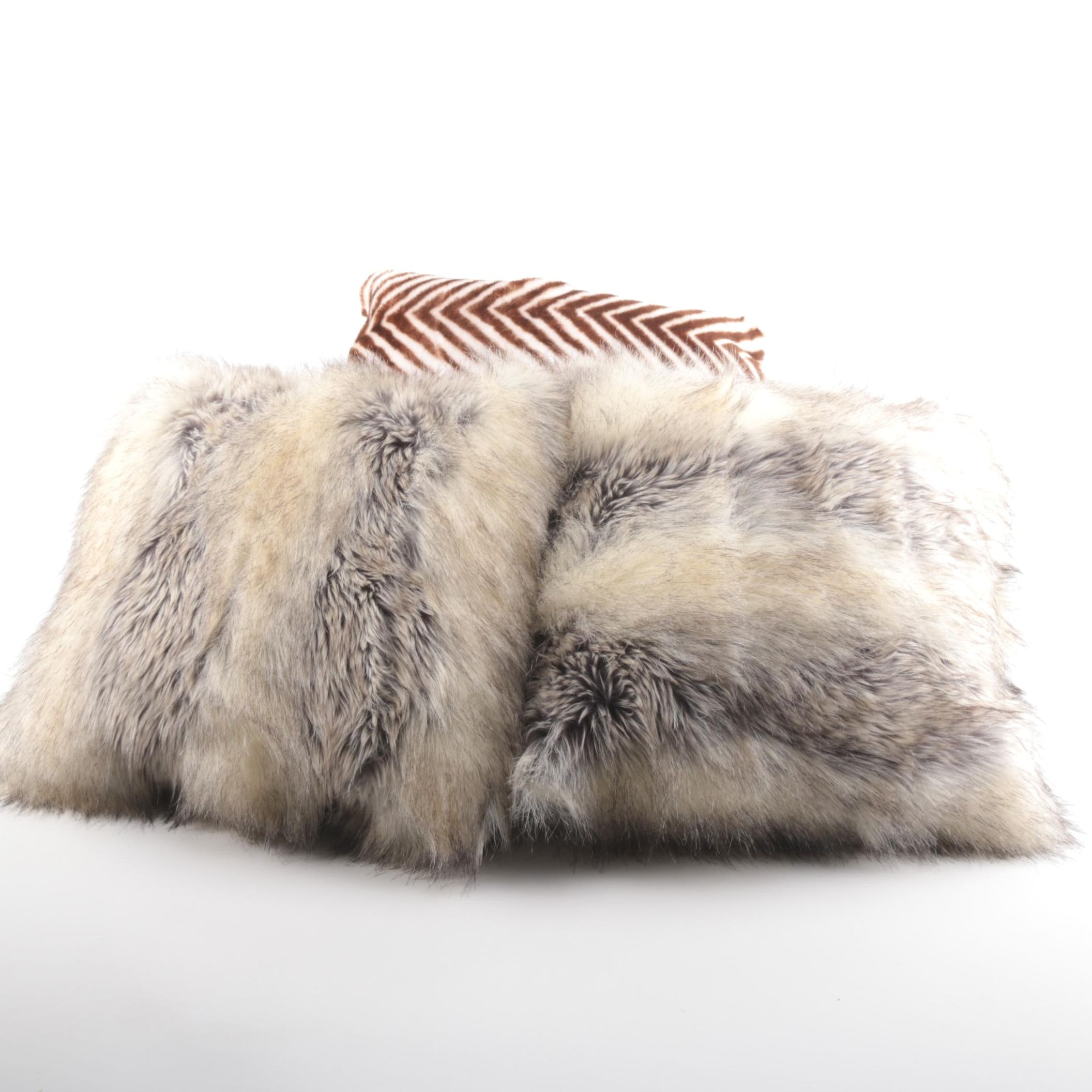 Faux Animal Fur Pillows
