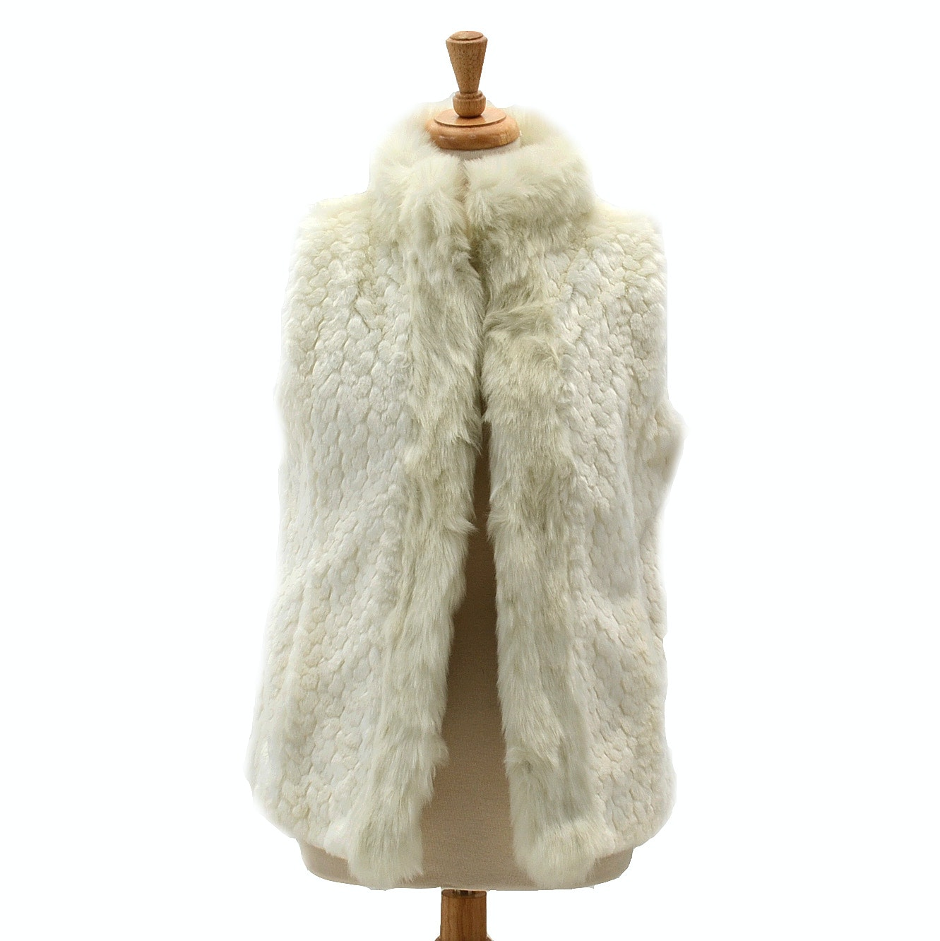 Women's Faux Fur Vest by Weatherproof