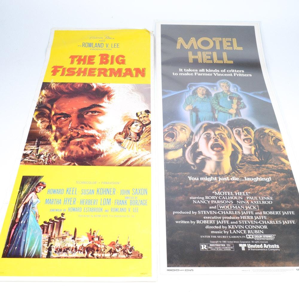 Pair of Vintage Movie Posters