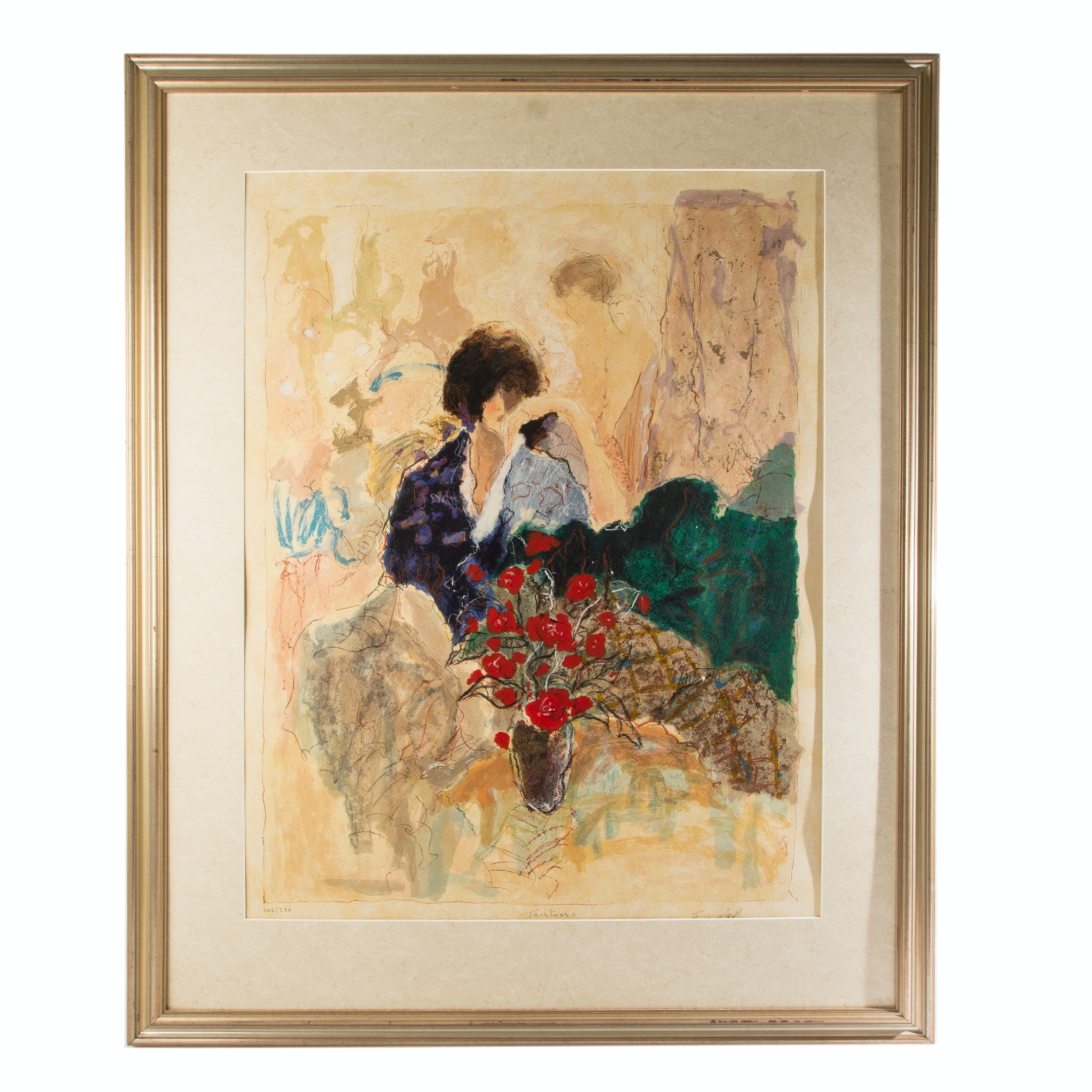 "Roy Fairchild Limited Edition Serigraph ""Tristesse"""