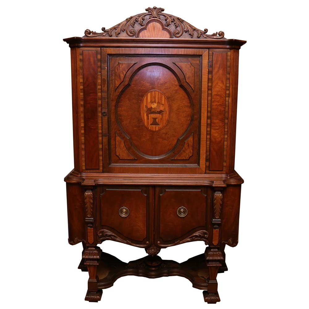 Vintage Victorian Style Cabinet