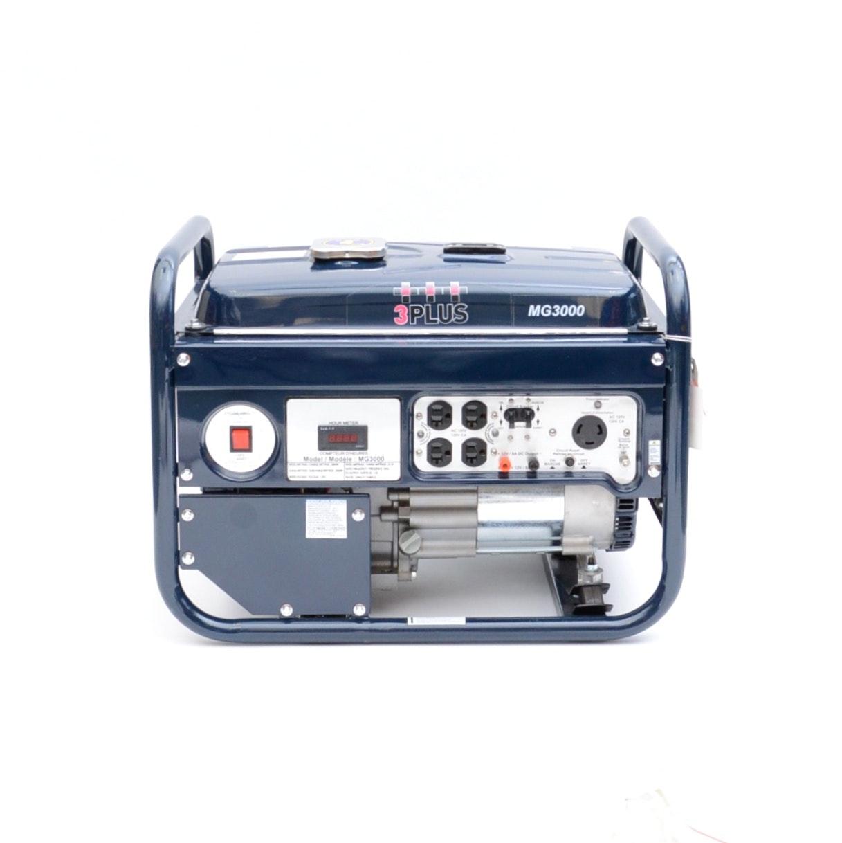 3 PLUS 3000 Watt Generator