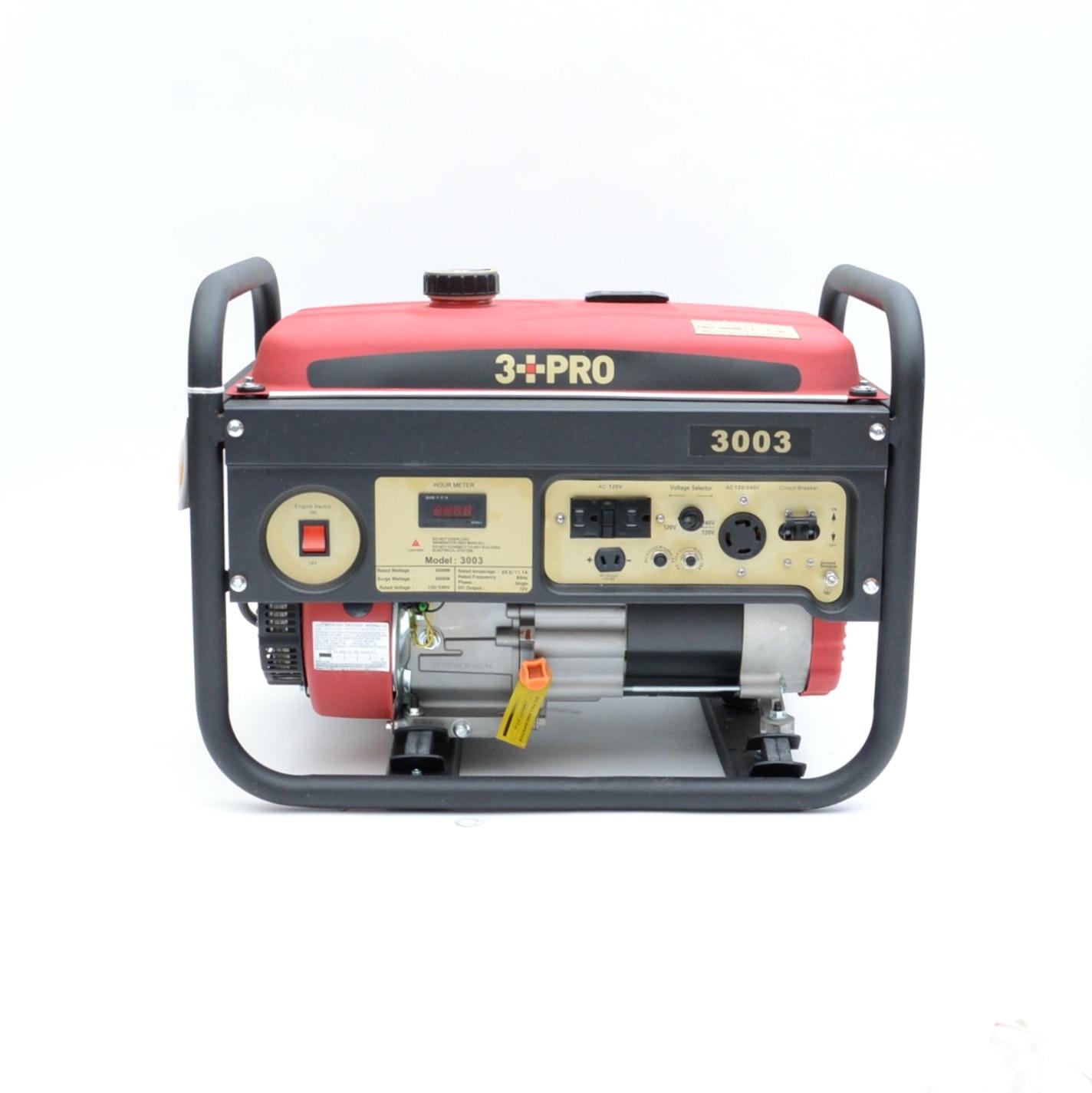 3 PRO 6.5 HP Gasoline Generator