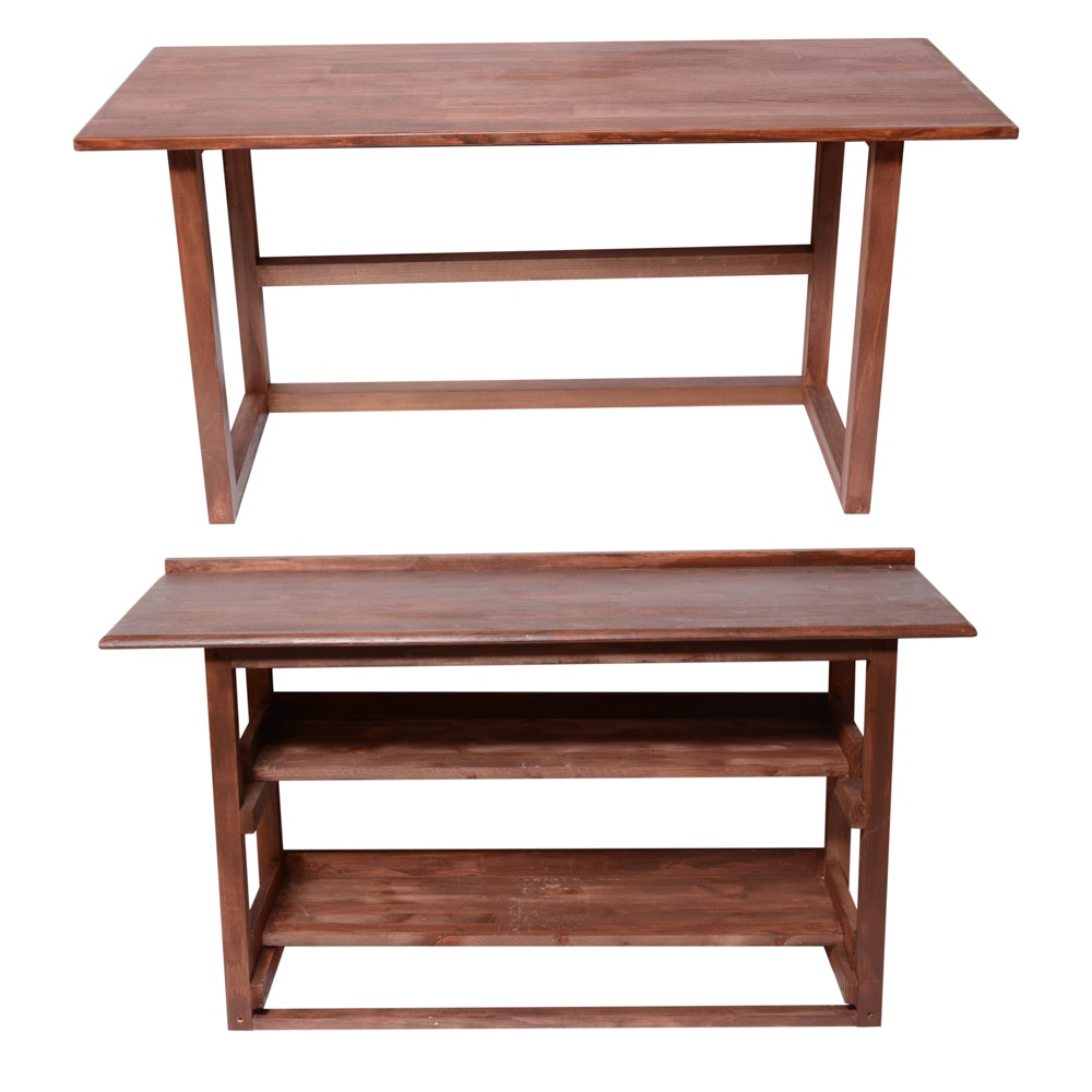 Wooden Working Tables