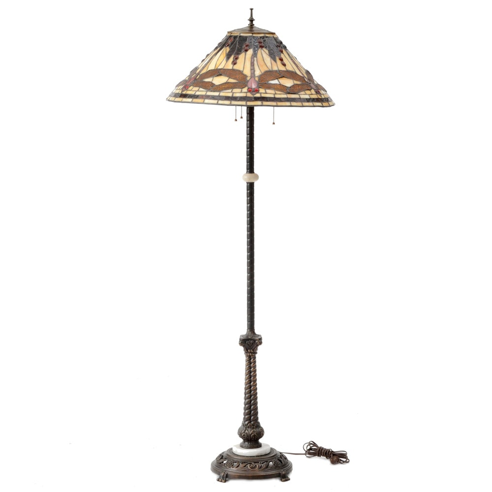 Tiffany Dragonfly Floor Lamp