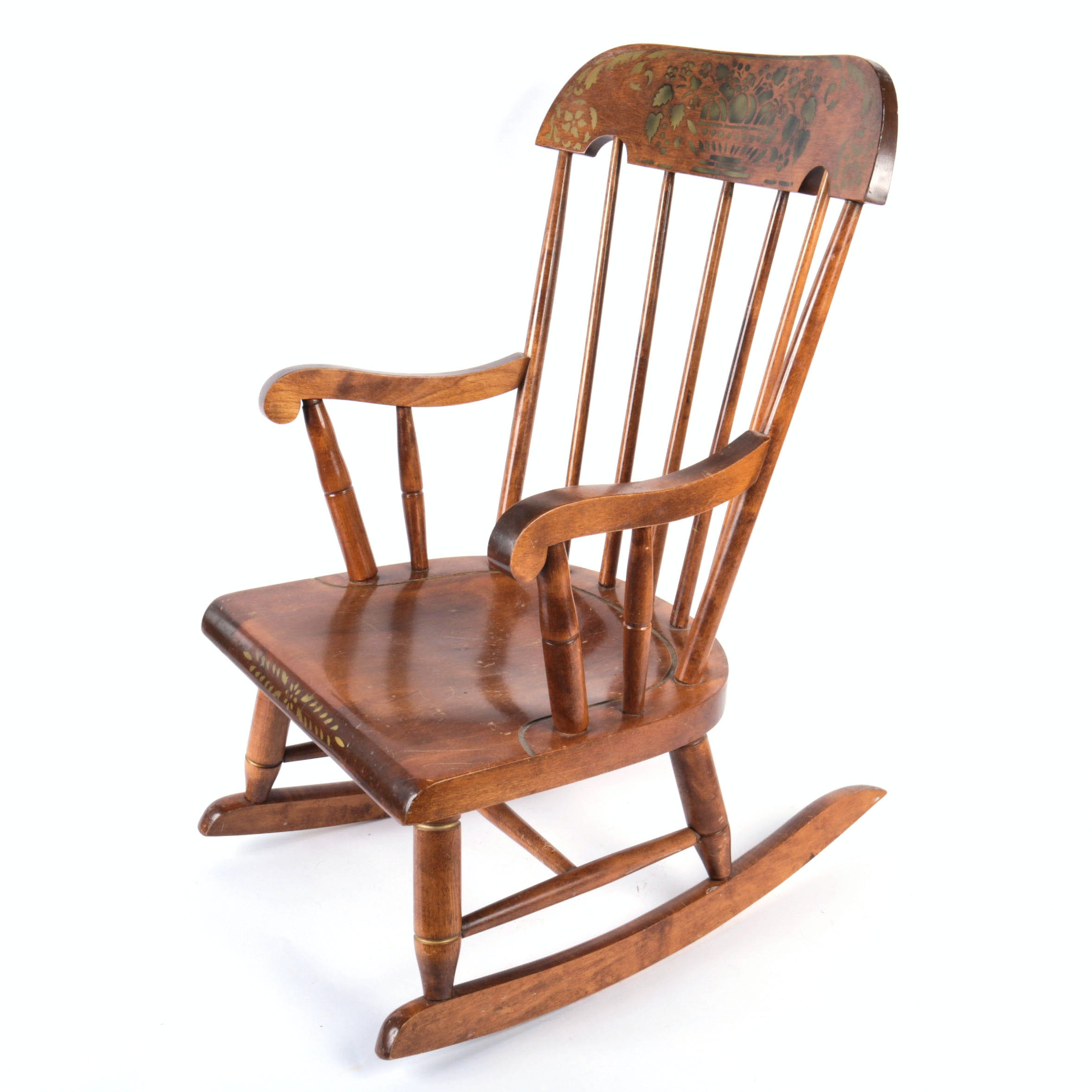 Children's Wood Rocking Chair
