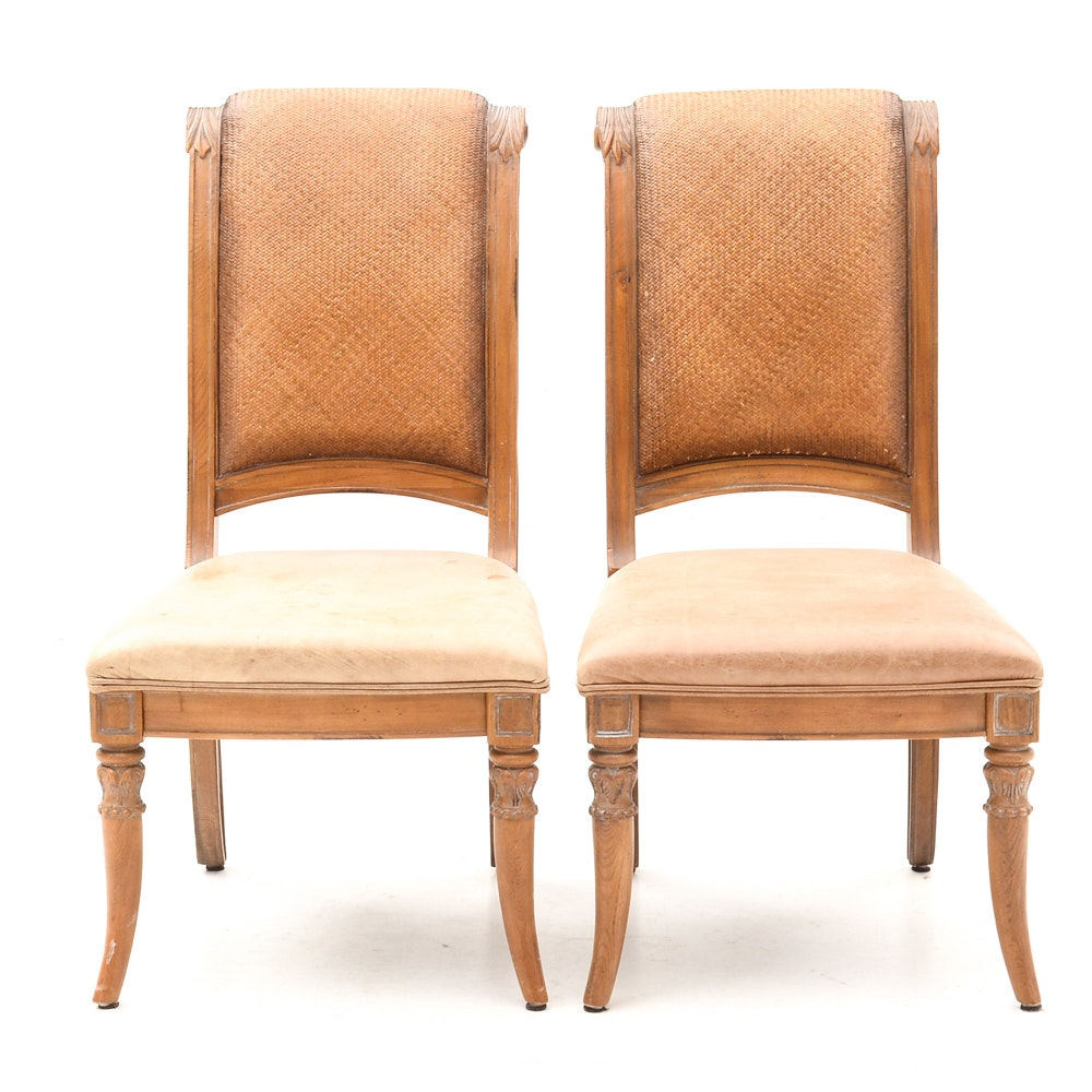 Pair of Lane Furniture Side Chairs