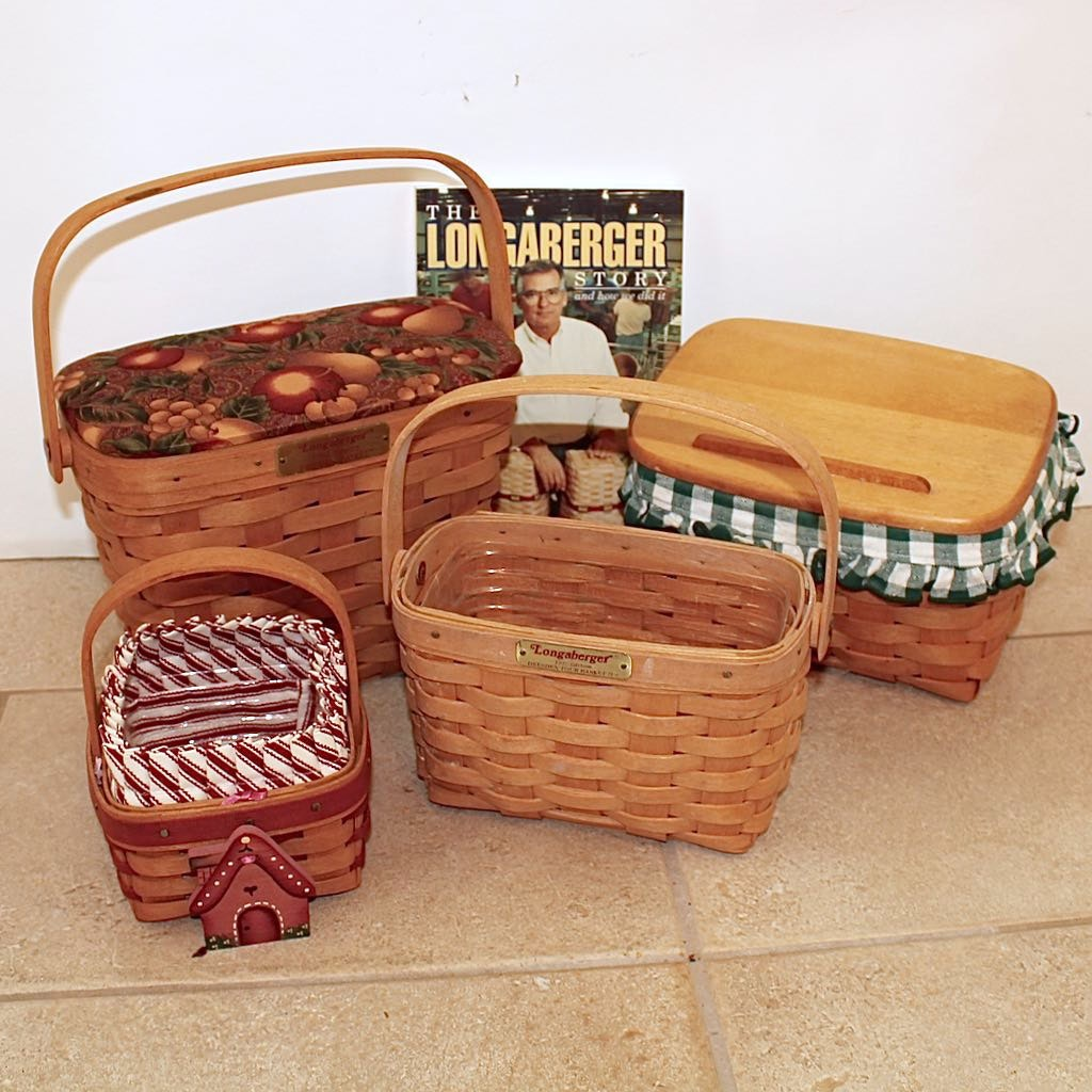 Longaberger Dresden Vintage Edition Baskets