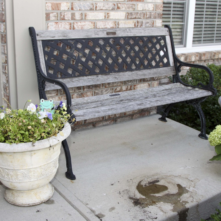 Amazing Berkley Forge And Foundry Outdoor Bench Theyellowbook Wood Chair Design Ideas Theyellowbookinfo