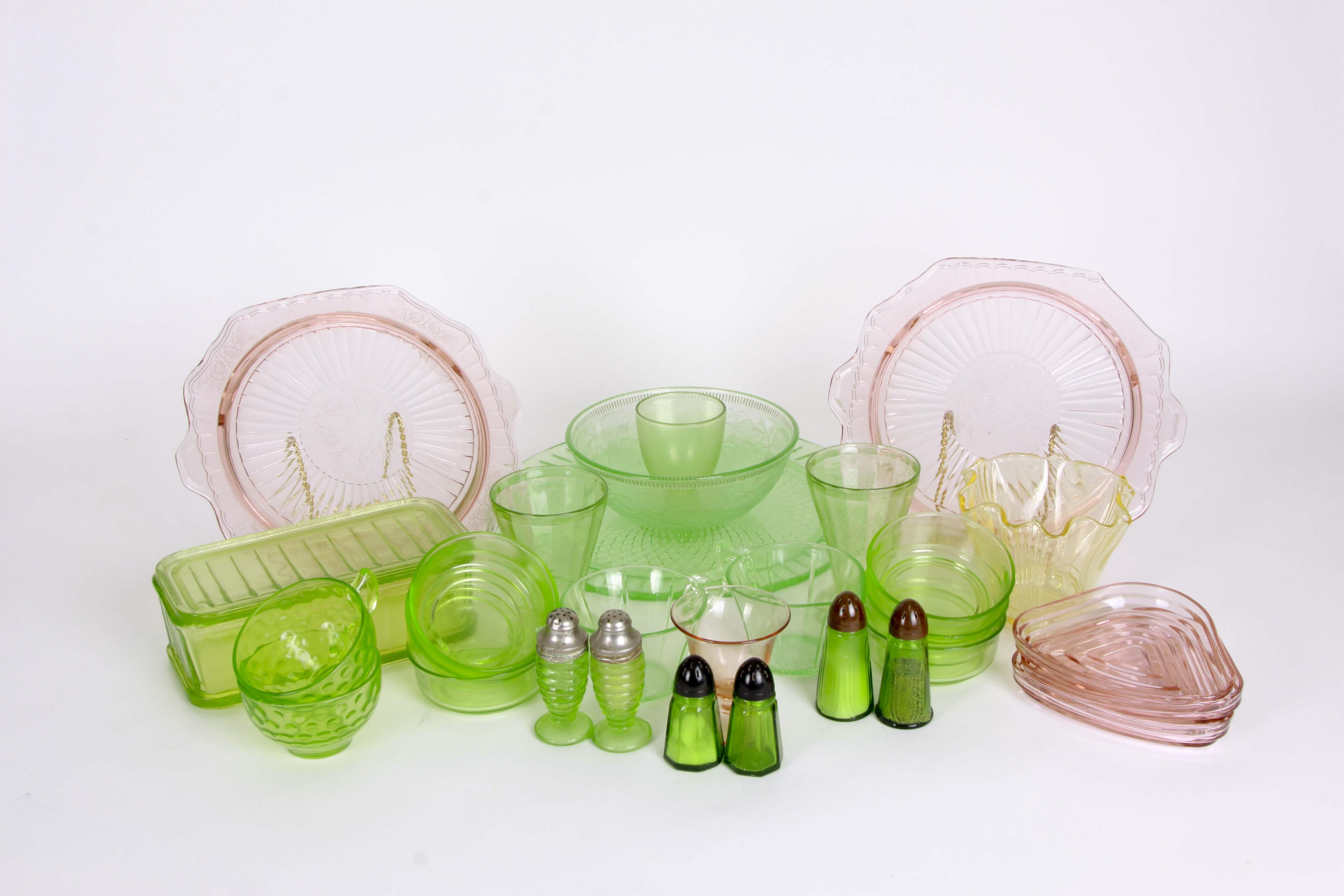 Depression Glass Assortment