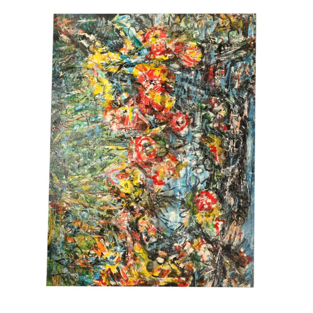 Rieloff Nielsen Georgina Original Acrylic on Canvas