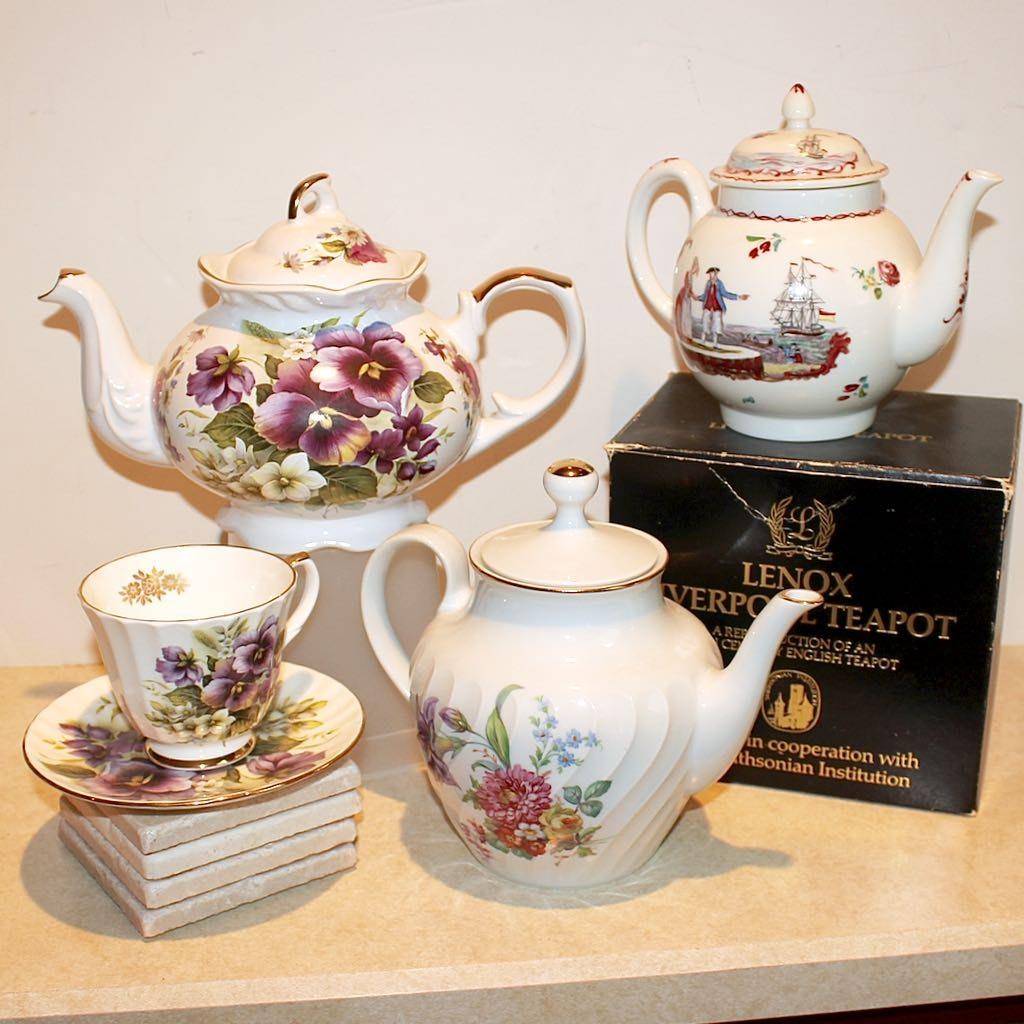English & German Tea Pots