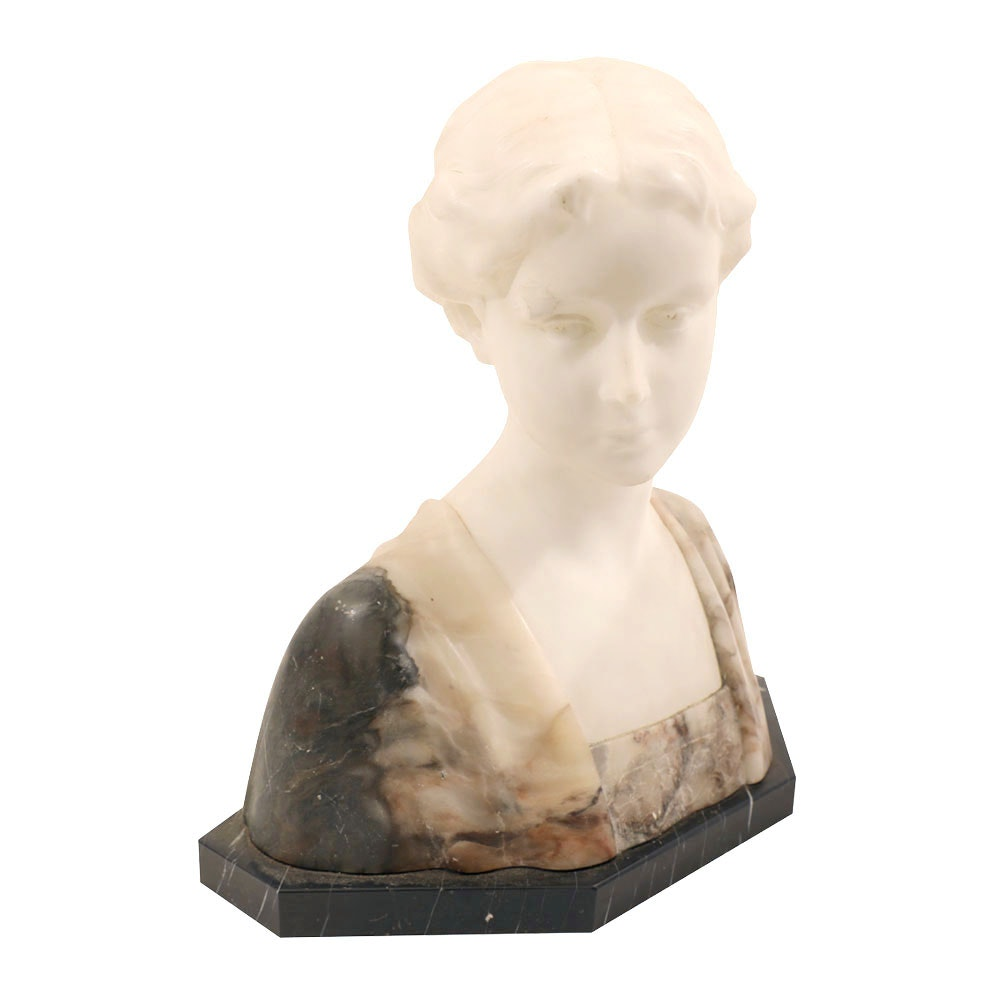 Marble Bust of Woman