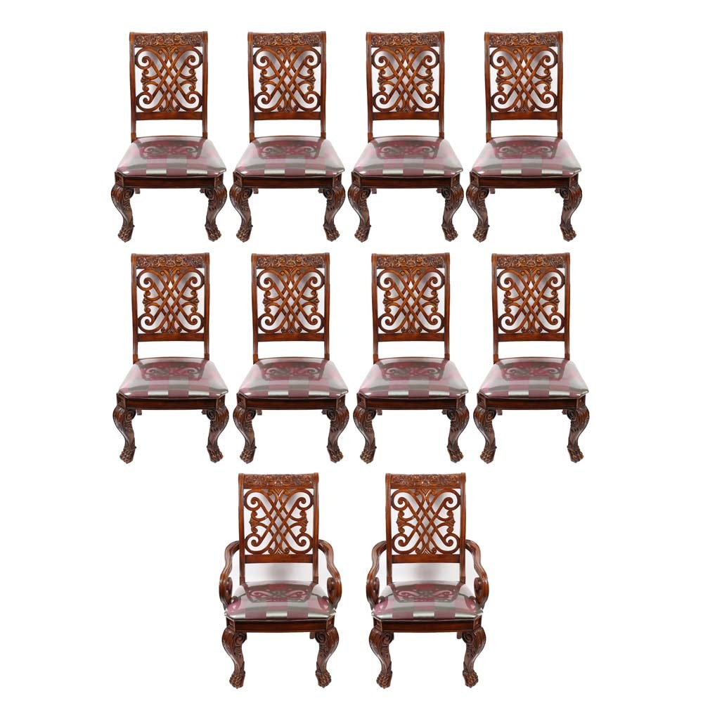 Set of Regency Style Dining Chairs