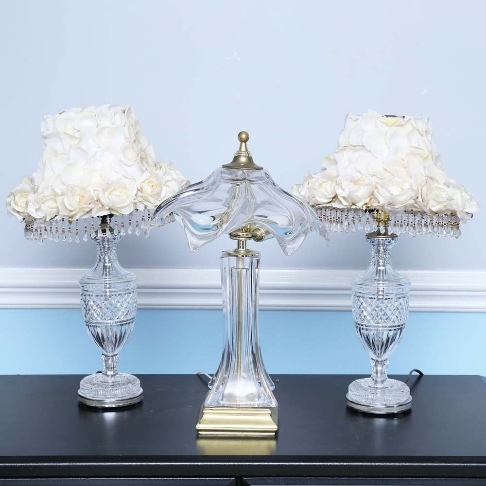 Glass Vanity Lamps