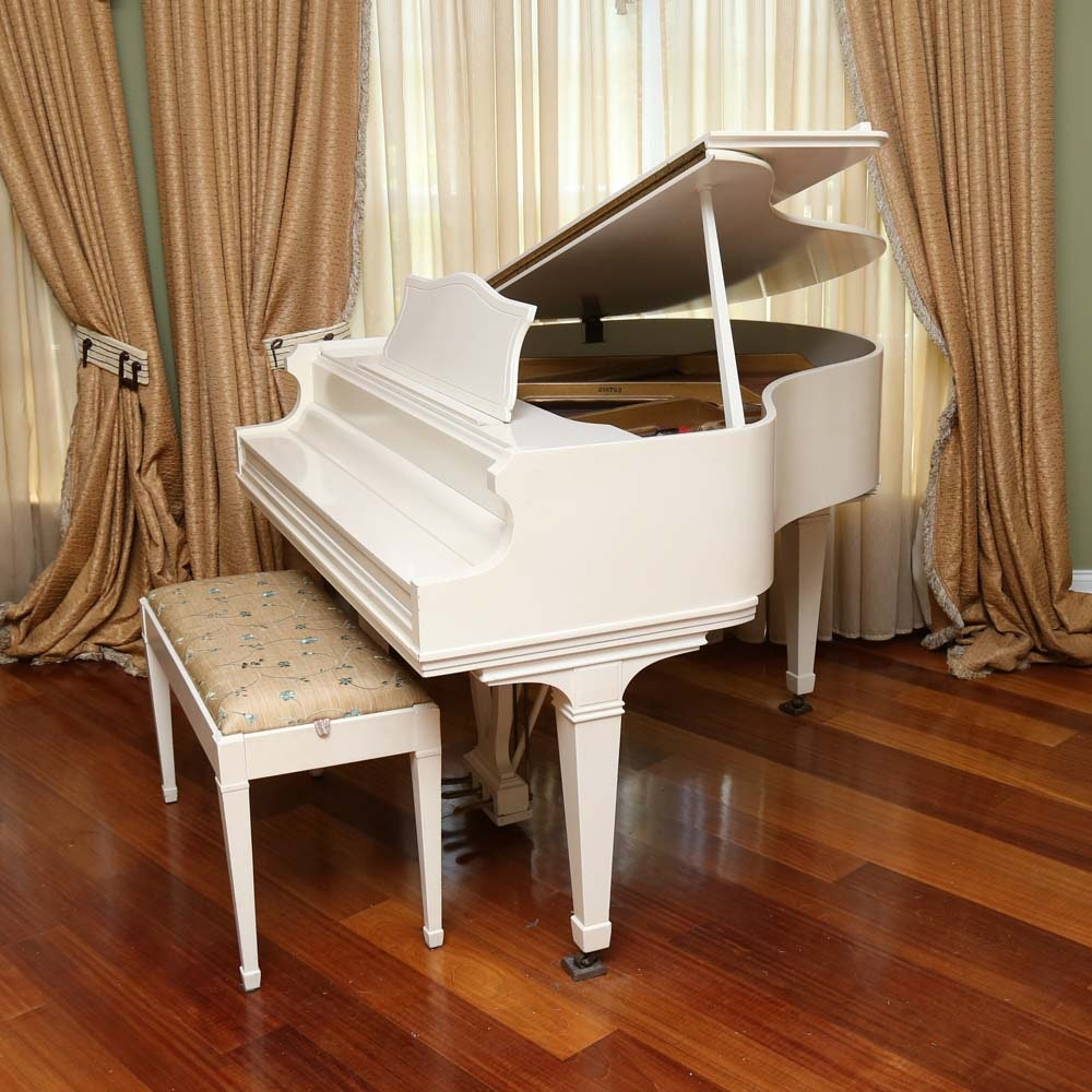 Fischer Compact Baby Grand Piano