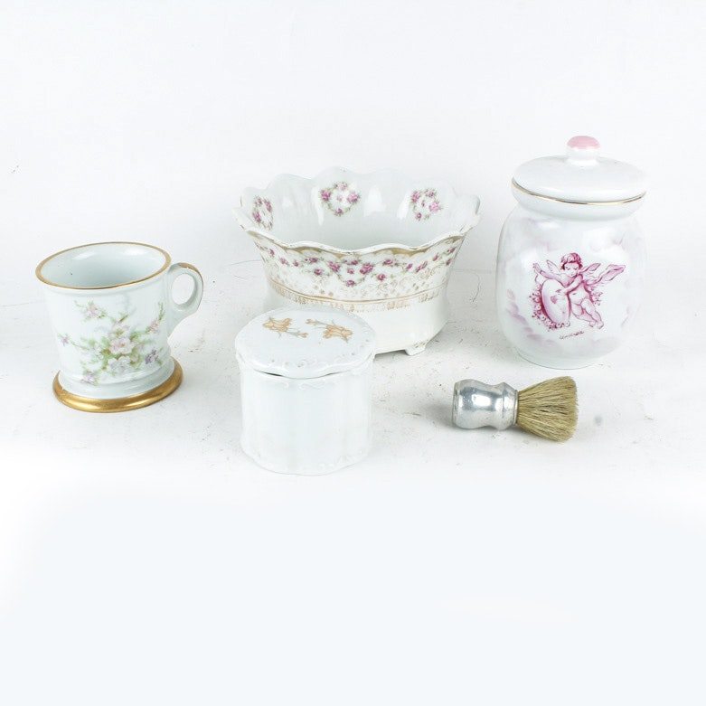 Porcelain Trinket Boxes and More