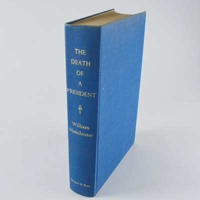 """William Manchester First Edition """"The Death of a President: November 1963"""" Hardcover Book"""