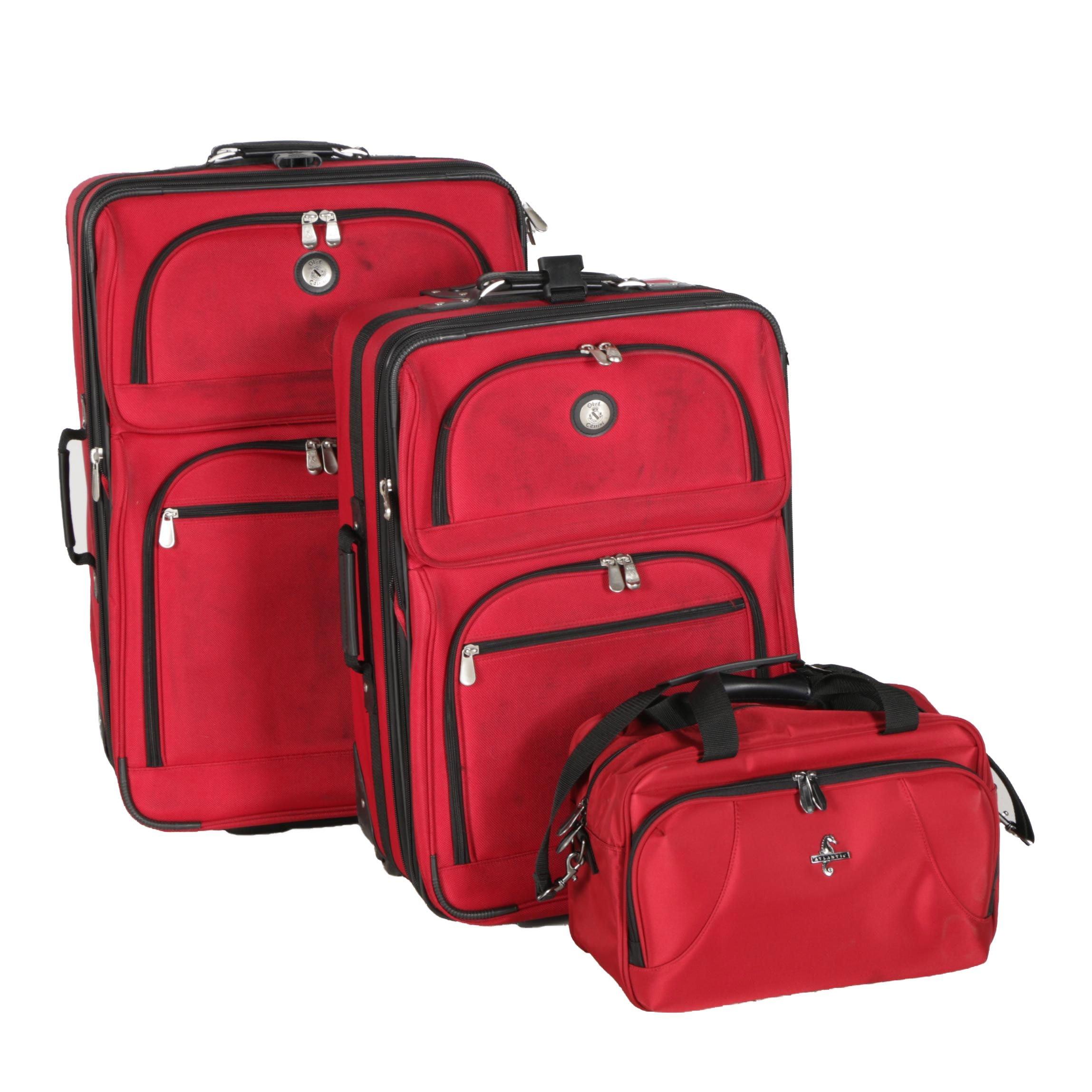 Three-Piece Luggage Set Including Oleg Cassini