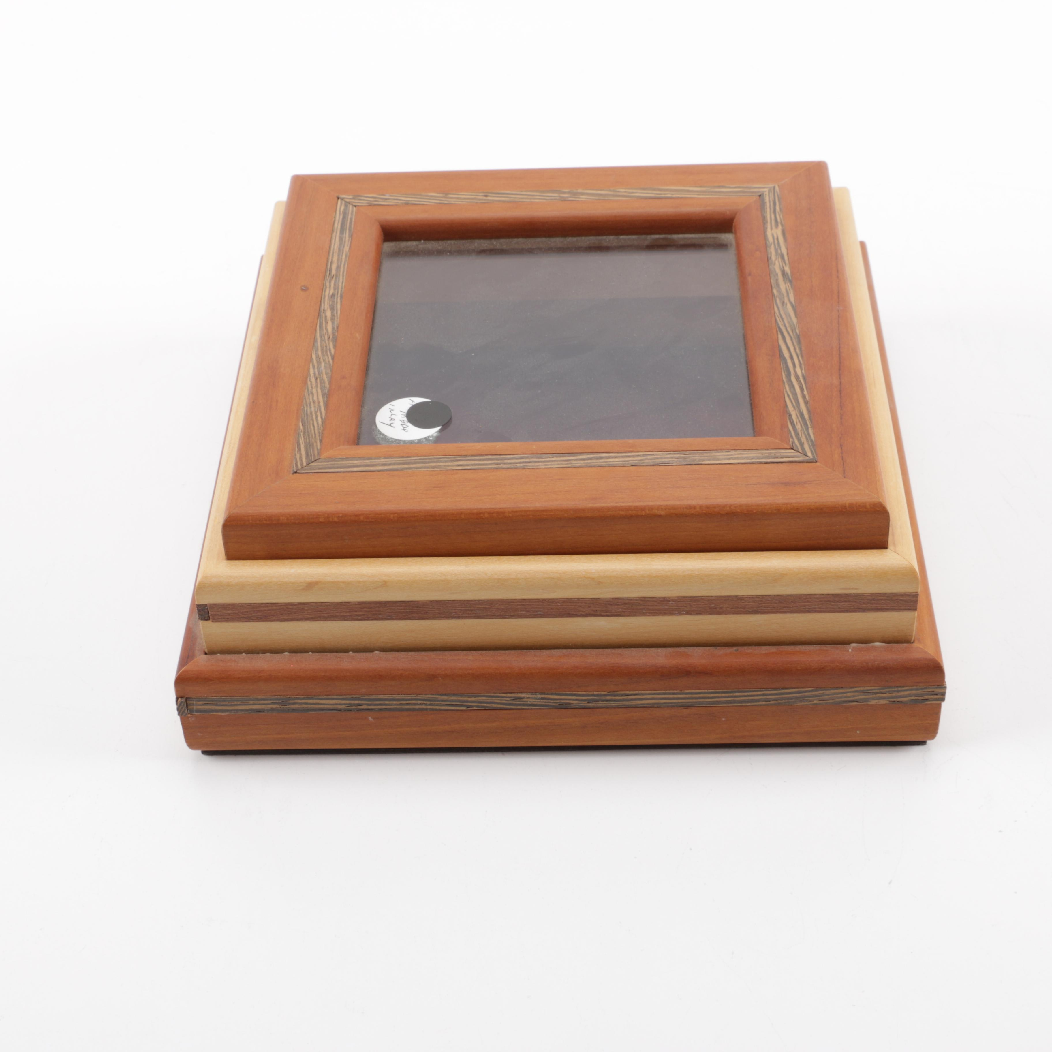 Wooden Trinket Display Box
