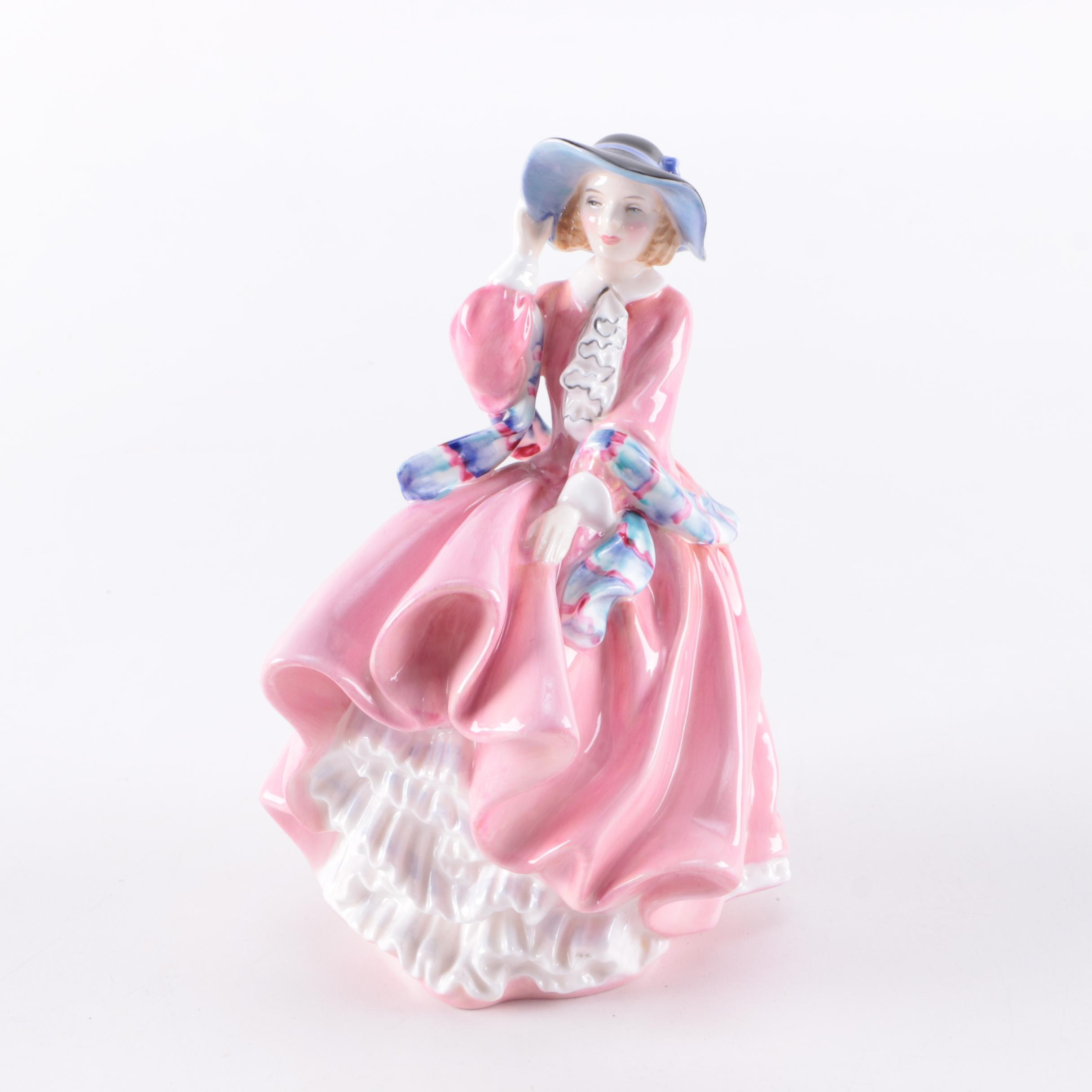 "Royal Doulton ""Top o the Hill"" Figurine"