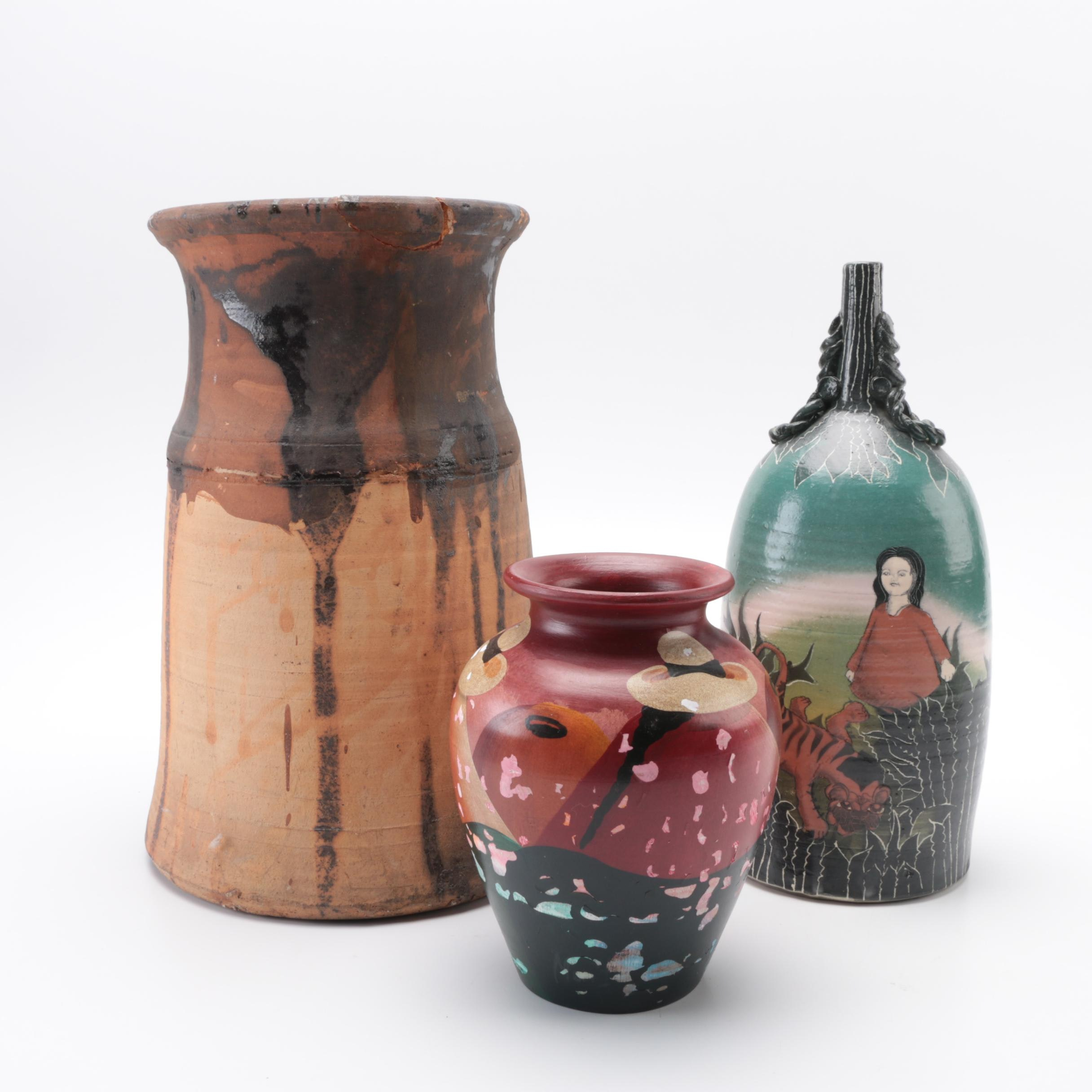 Lorio Raku Studio Pottery and Others