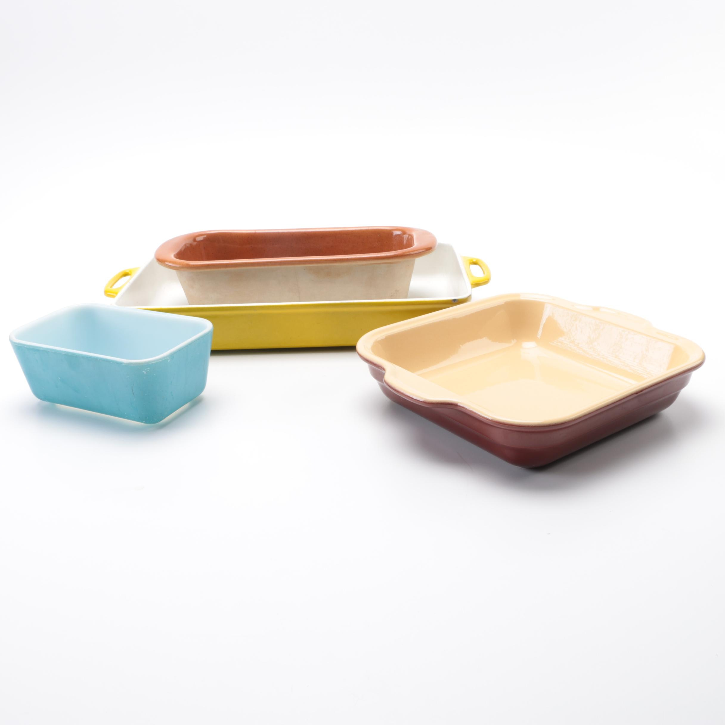 PRIORITY-Assorted Bakeware including Emile Henry and Bennington Potters
