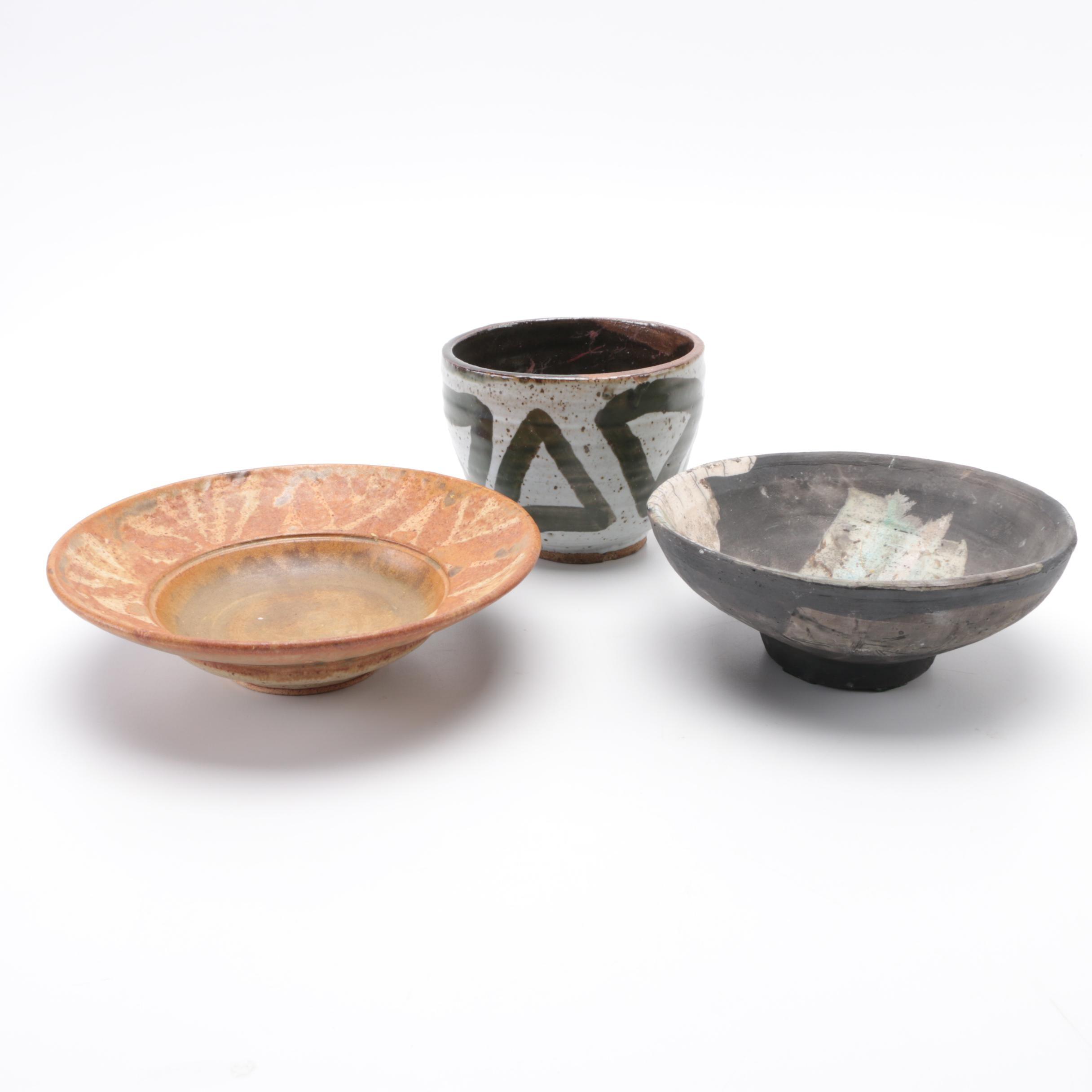 Hand Thrown Stoneware Bowls