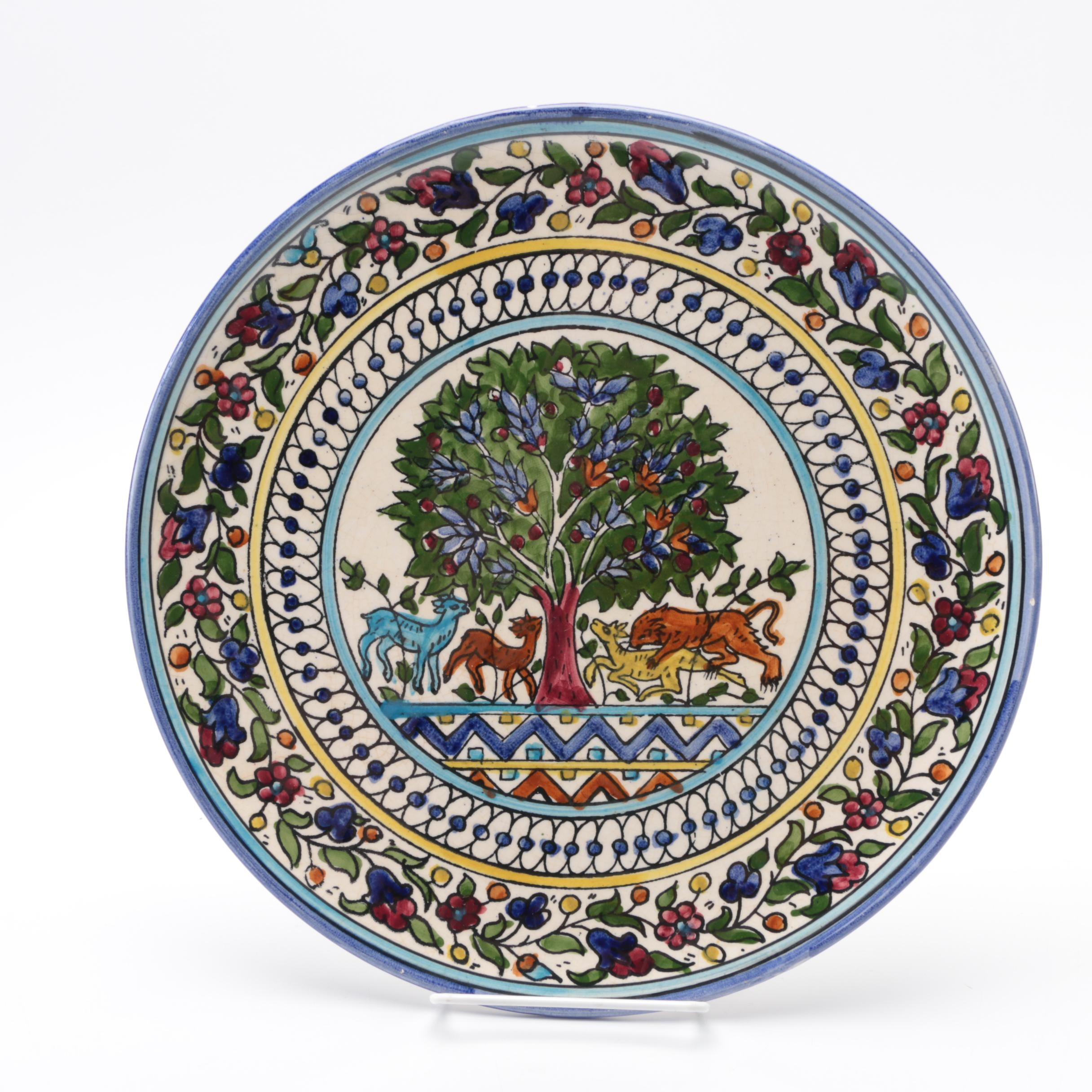 Decorative Faïence Plate