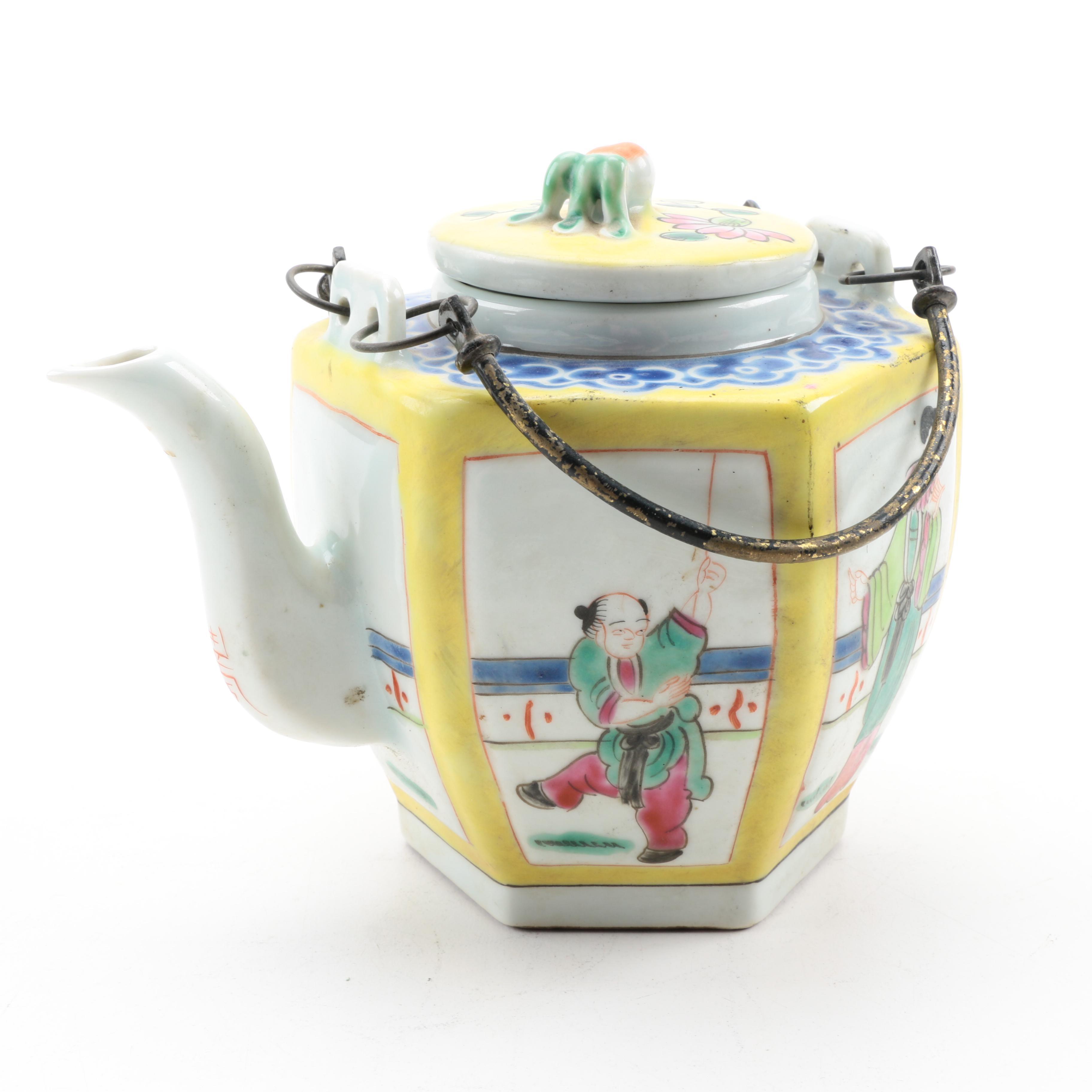 Vintage Chinese Tea Pot