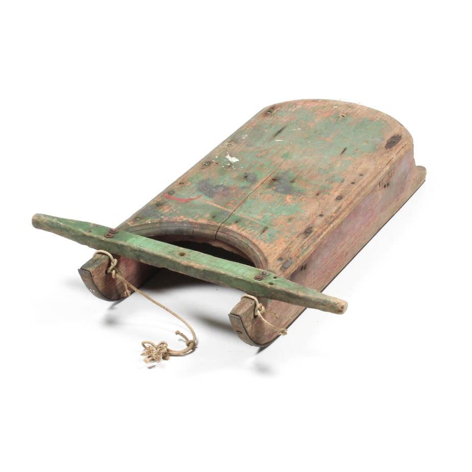 Vintage Wooden Sled