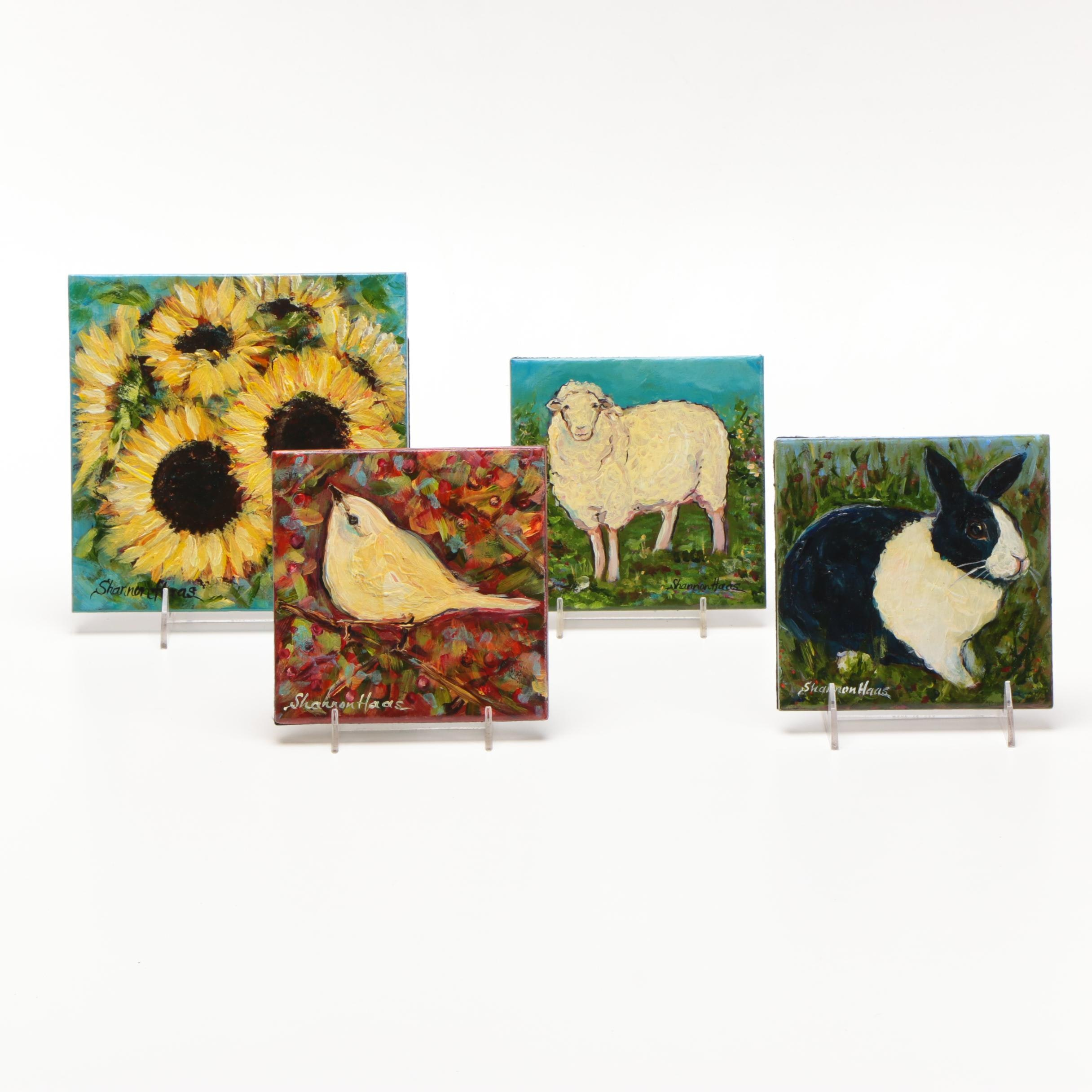 Shannon Haas Paintings on Tile