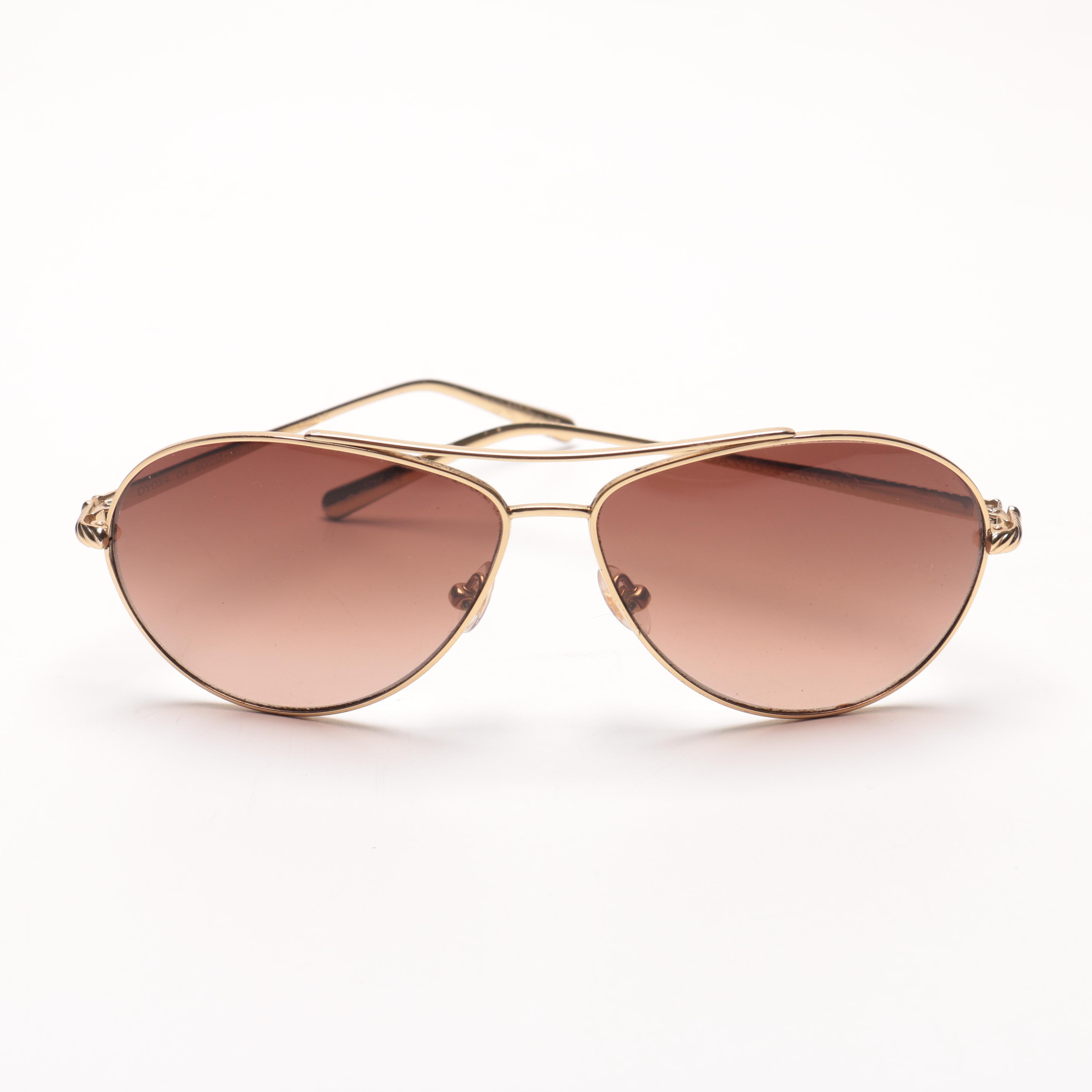 David Yurman Aviator Sunglasses