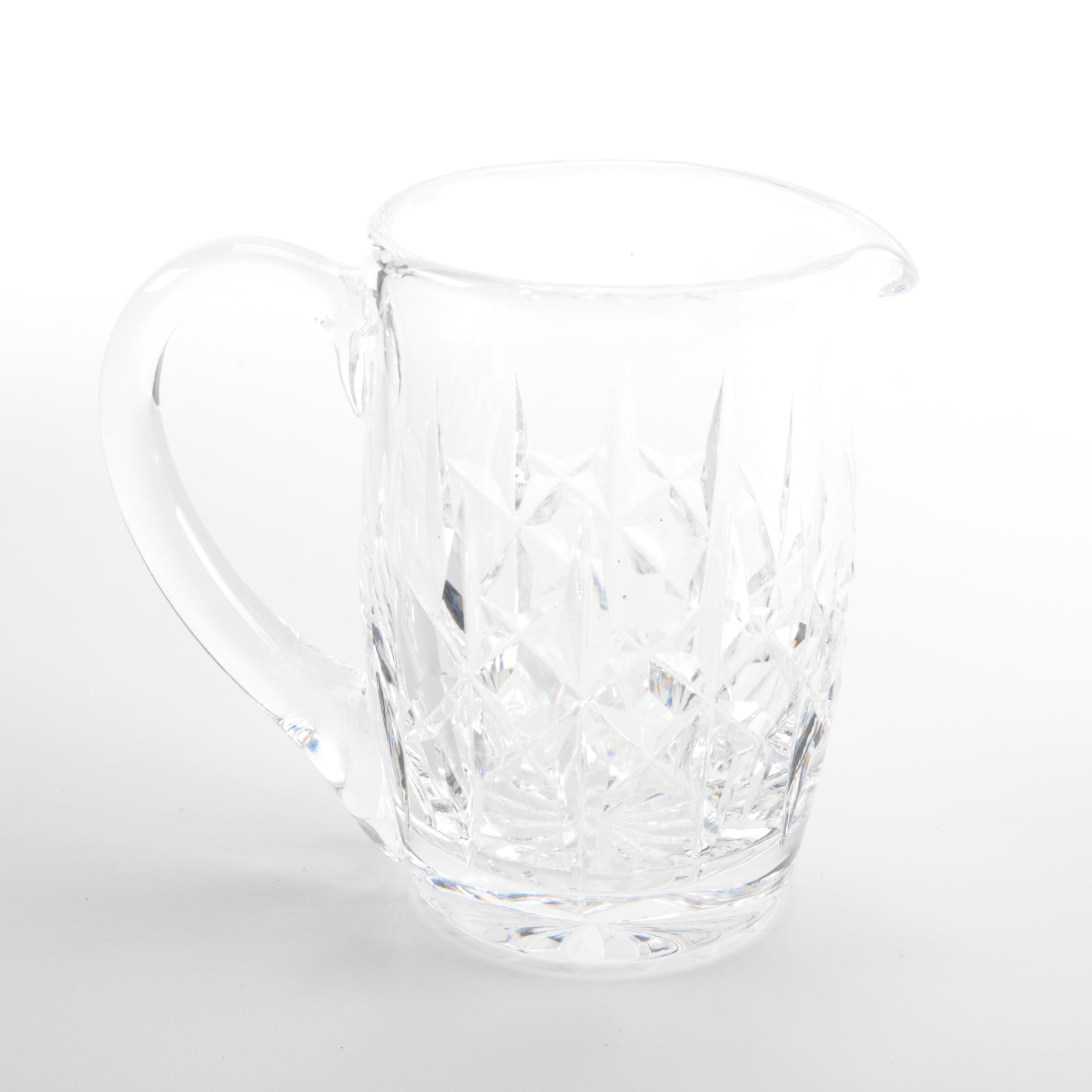Waterford Crystal Creamer