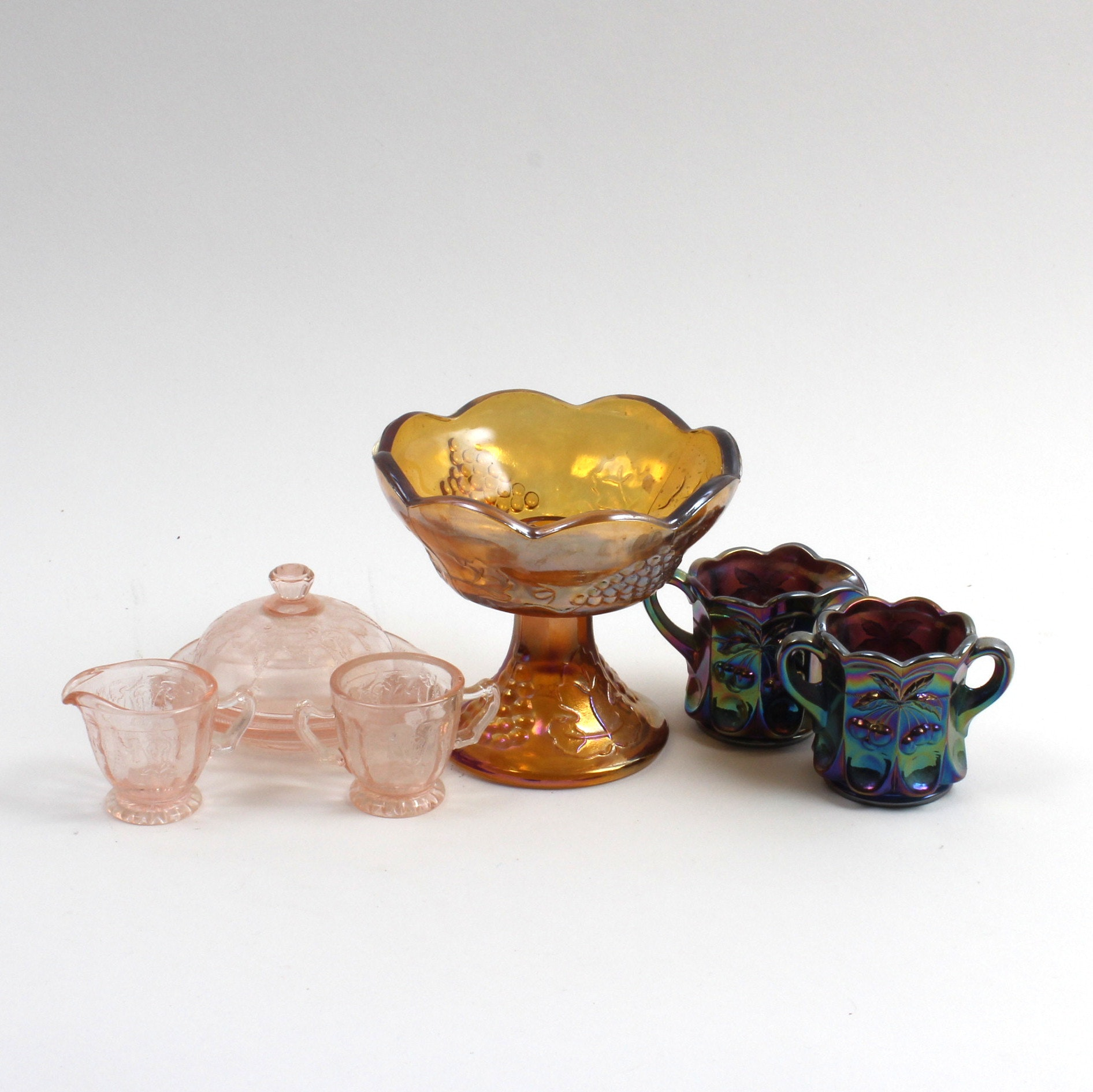 Carnival and Depression Glass